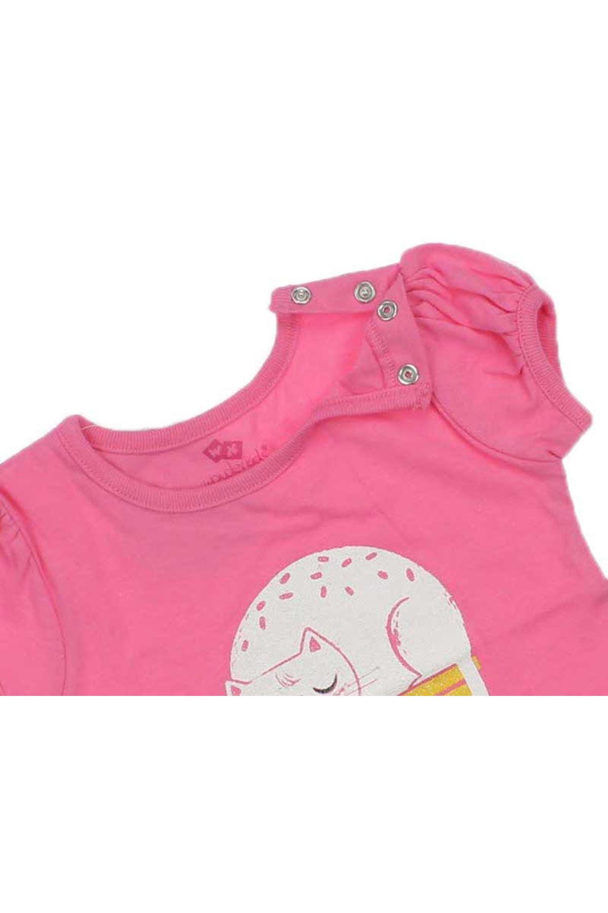 Wonder Kids Kız Bebek Tişört