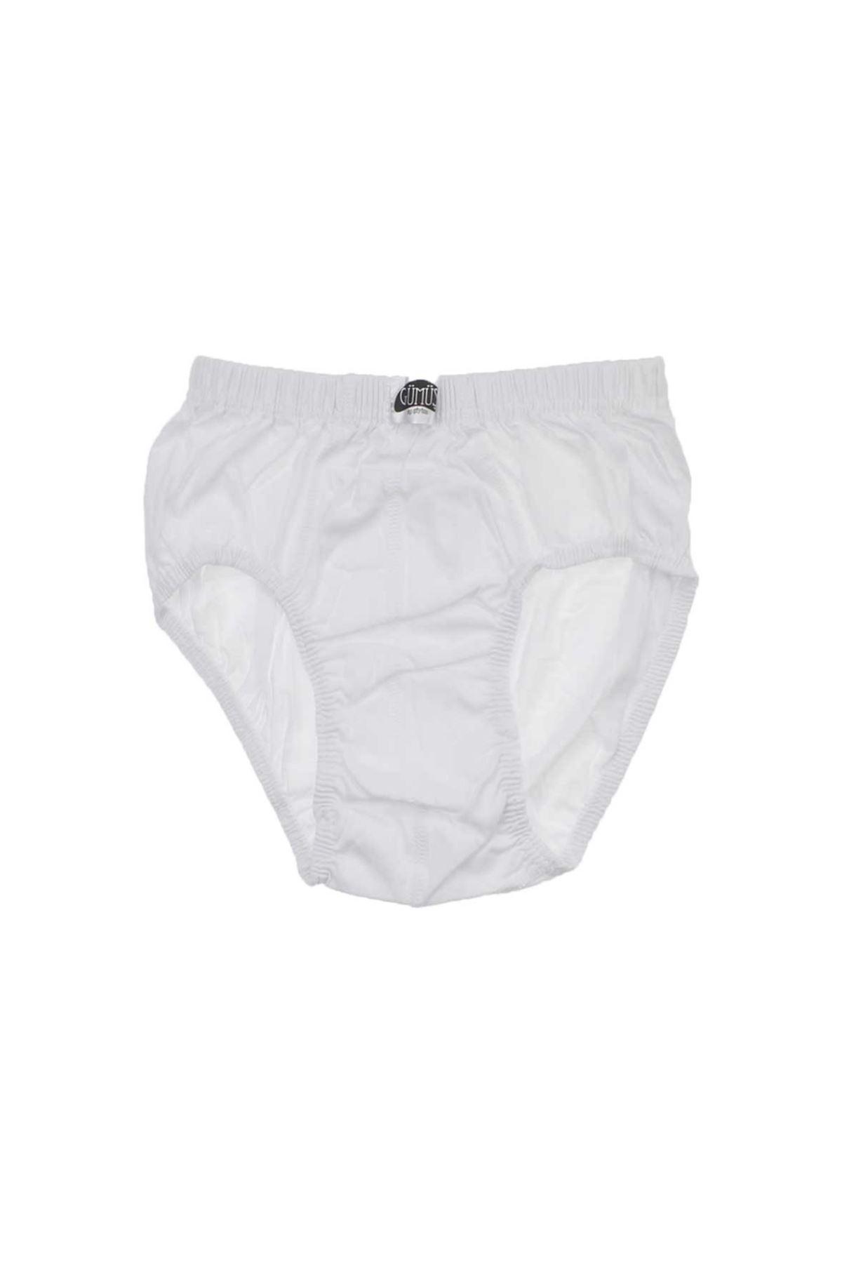 Gümüş İç Giyim Erkek 6 lı Beyaz Komslip