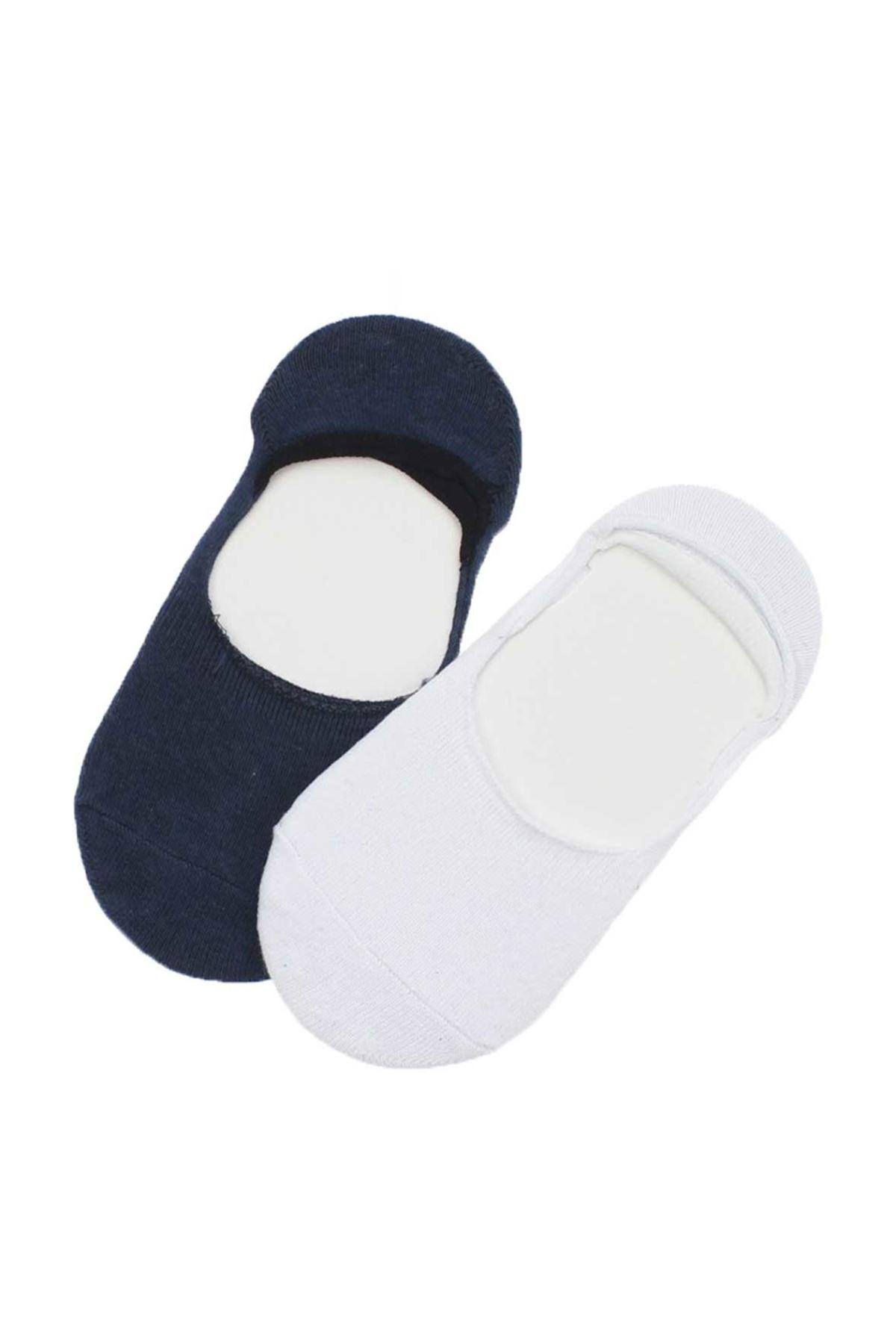 Wonder Kids Erkek Çocuk 2 li Babet Çorabı