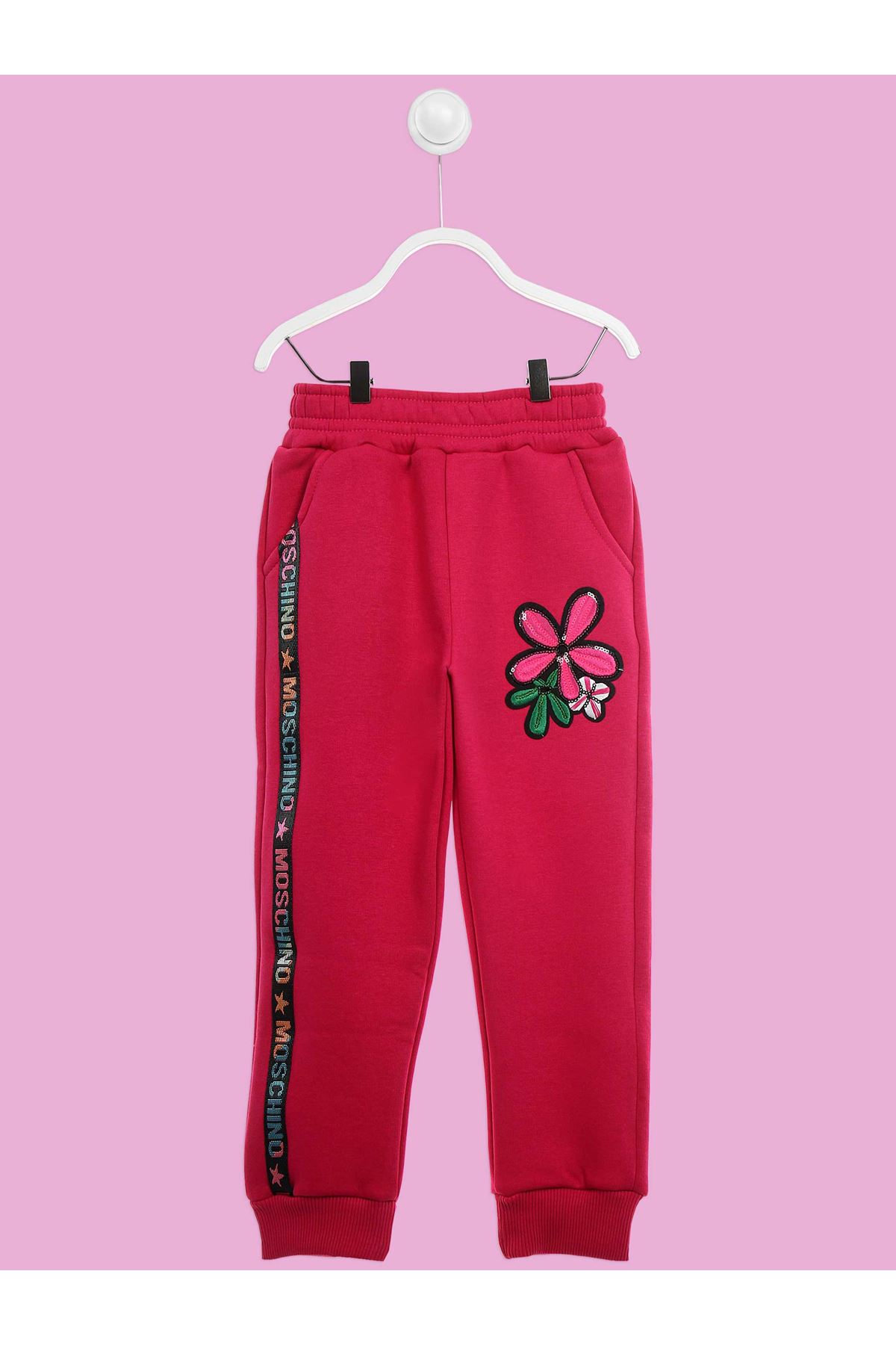 Fuchsia Winter Girls Boy Sweatpants