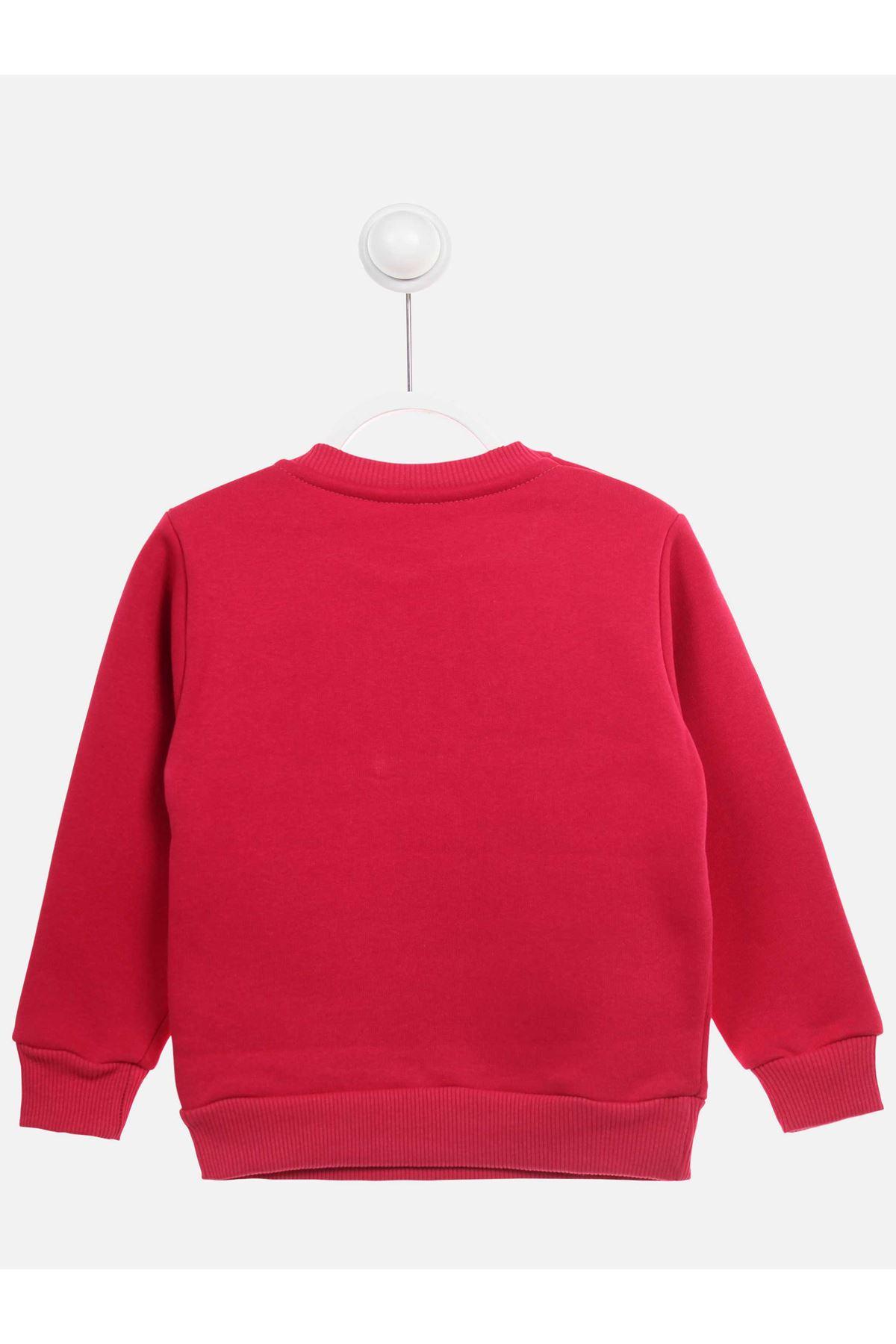 Fuchsia Winter Girl Sweatshirt