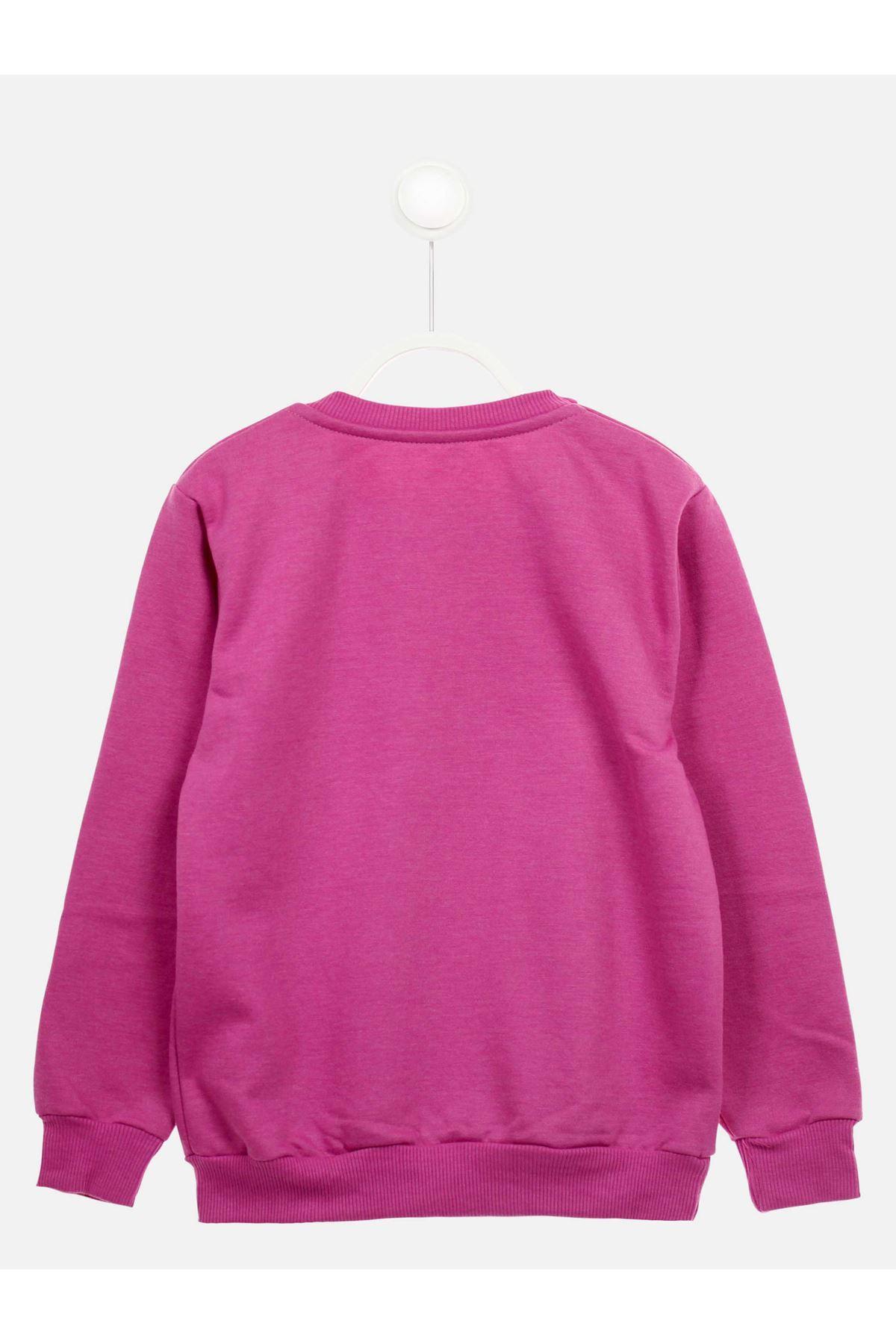 Lilac Seasonal Girl Child Sweatshirt