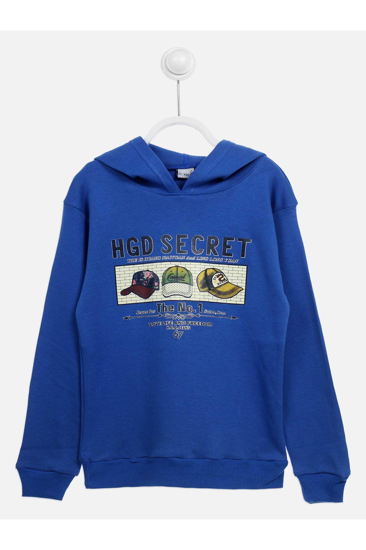 Sax Seasonal Hooded Boy's Sweatshirt