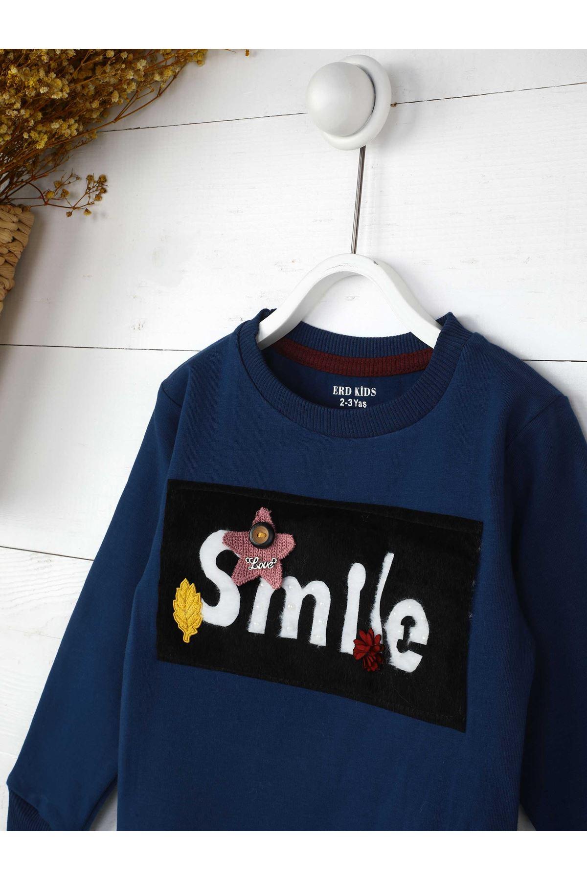 İndigo Mevsimlik Kız Çocuk Sweatshirt