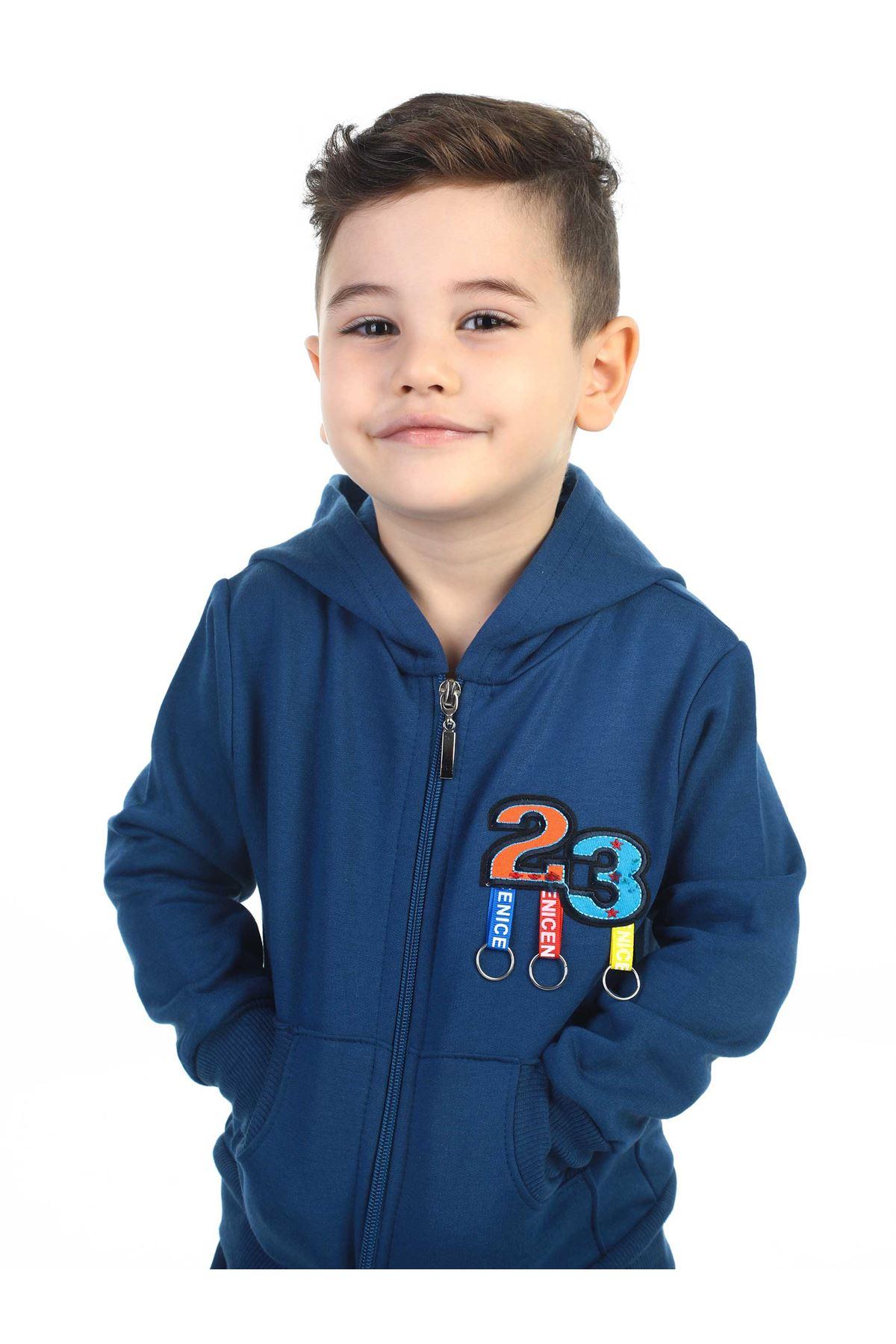 Indigo Seasonal Male Child Jacket