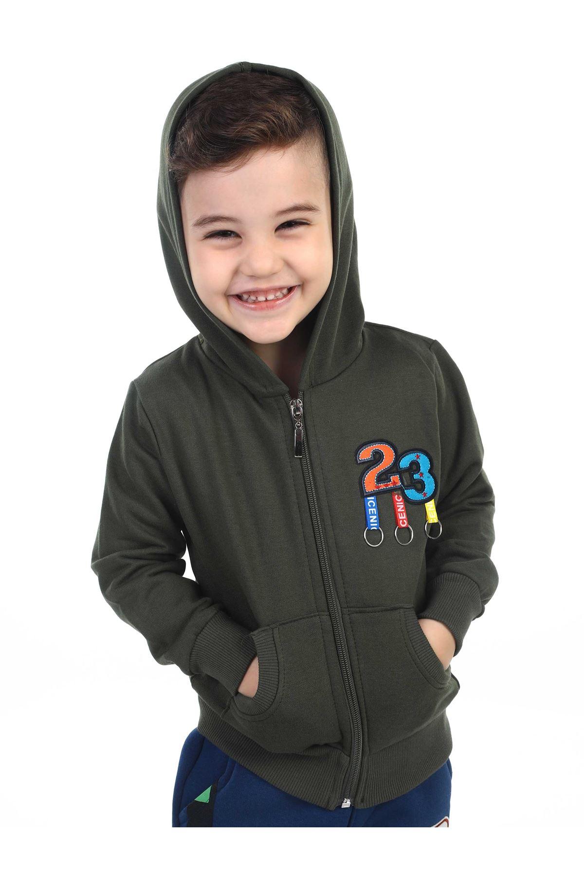 Khaki Seasonal Male Child Jacket
