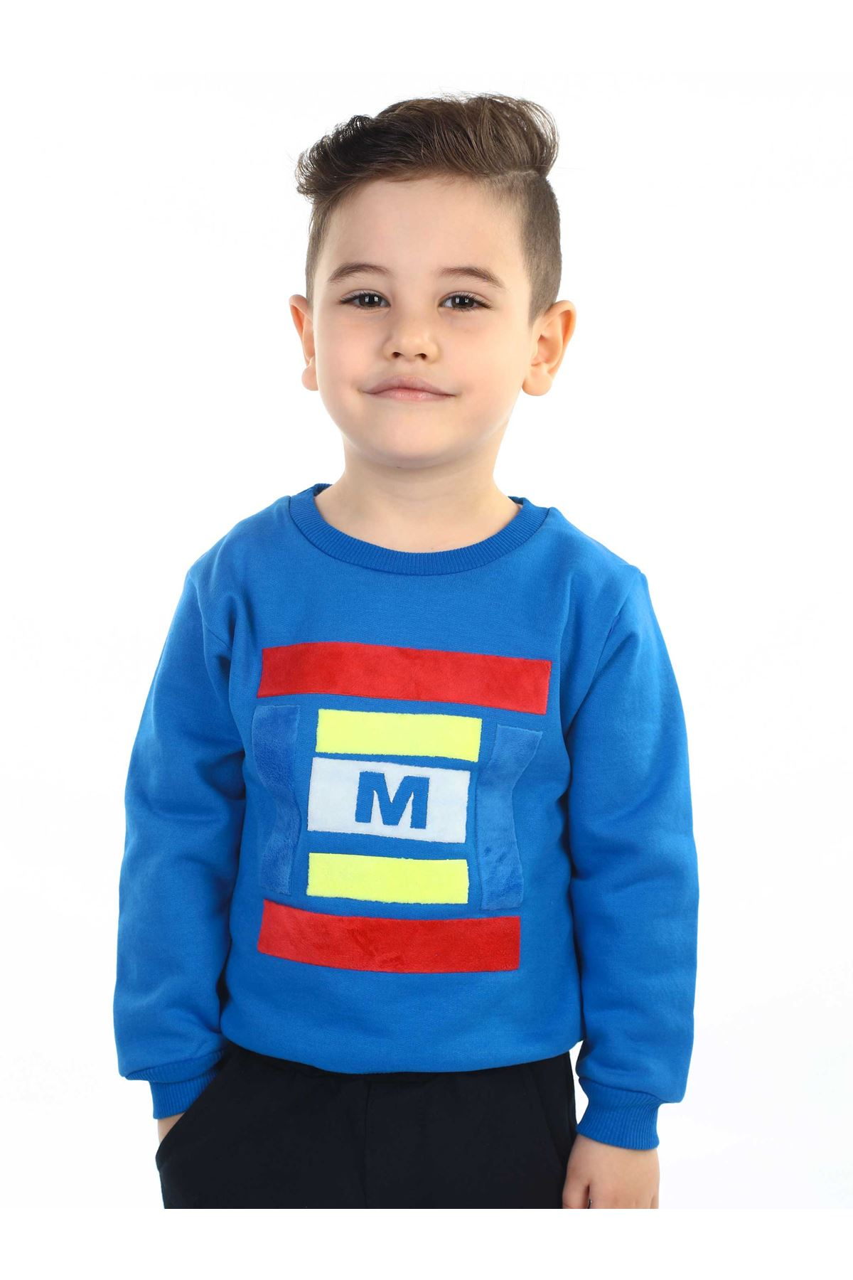 Blue Seasonal Boy Sweatshirt