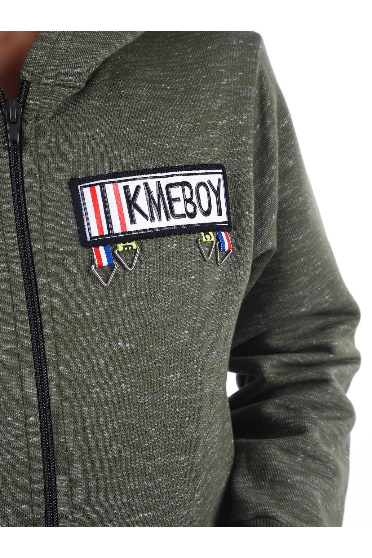 Khaki Size Jacket Teenage Clothing Seasonal Cotton Casual Jacket Coat Outfits 2021 Seasonal Models