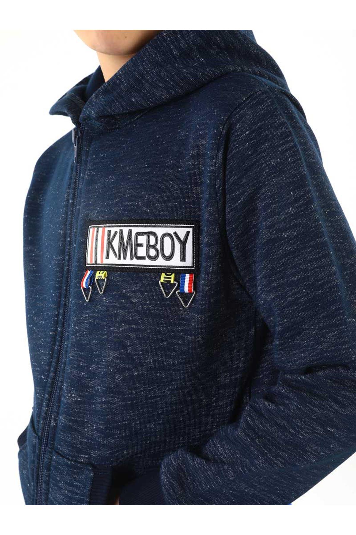 Dark blue Winter Male Child Jacket