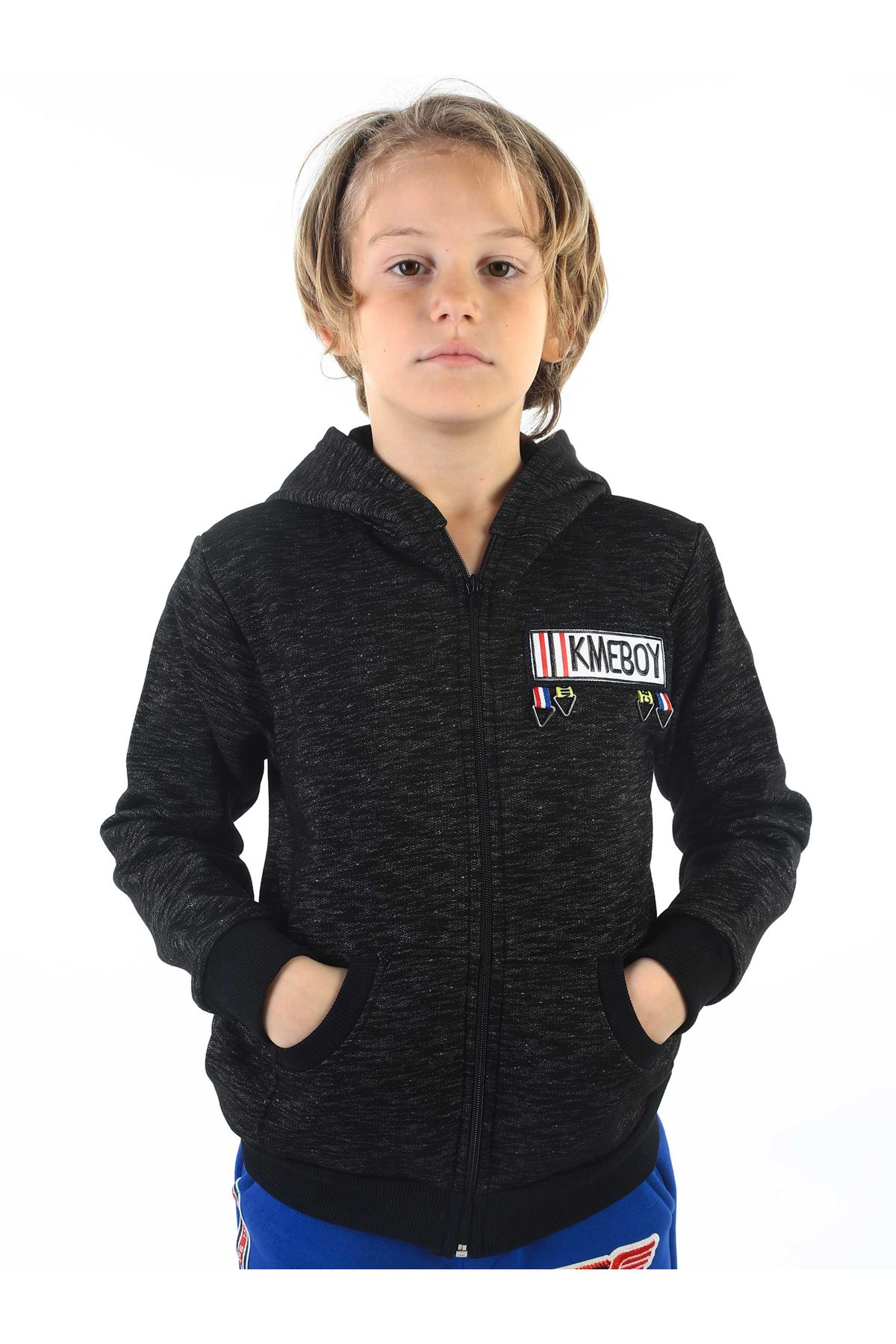 Black Winter Male Child Jacket