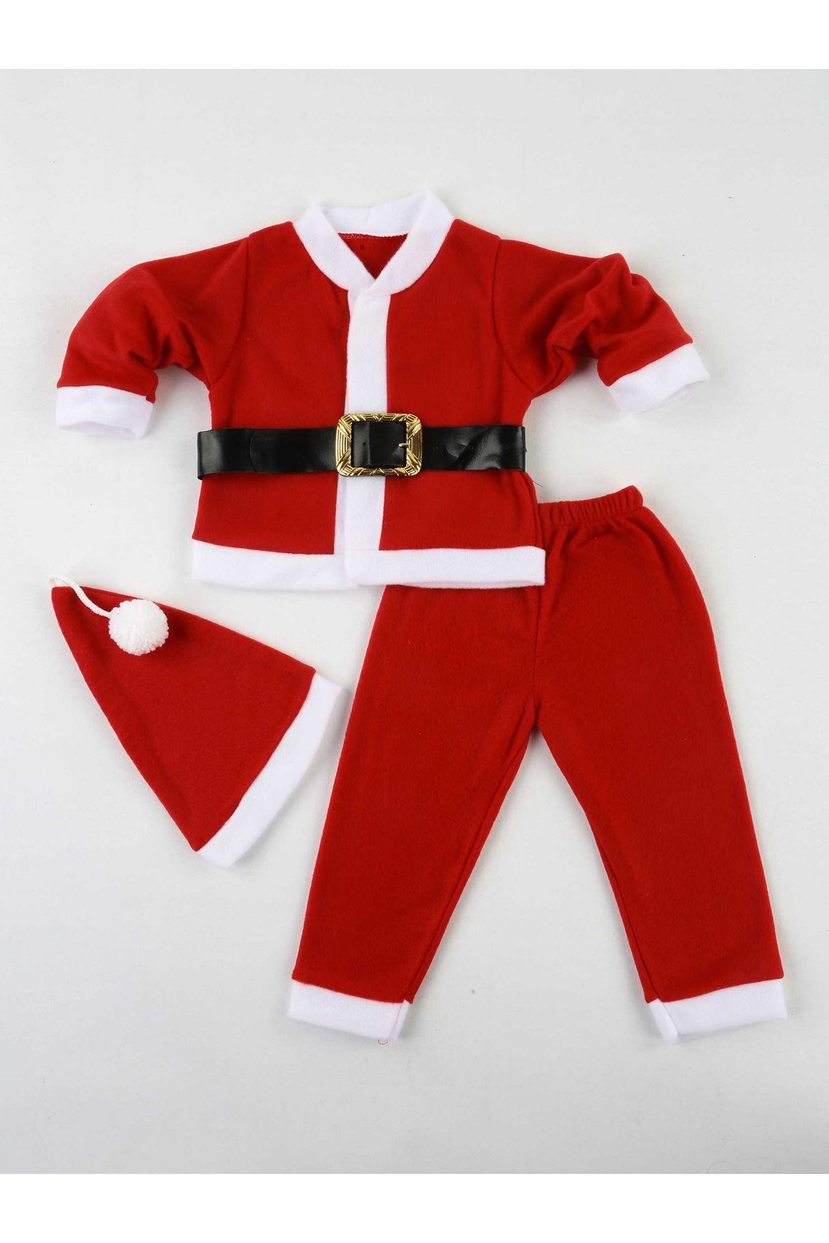 Erkek Çocuk Noel Baba Kostüm