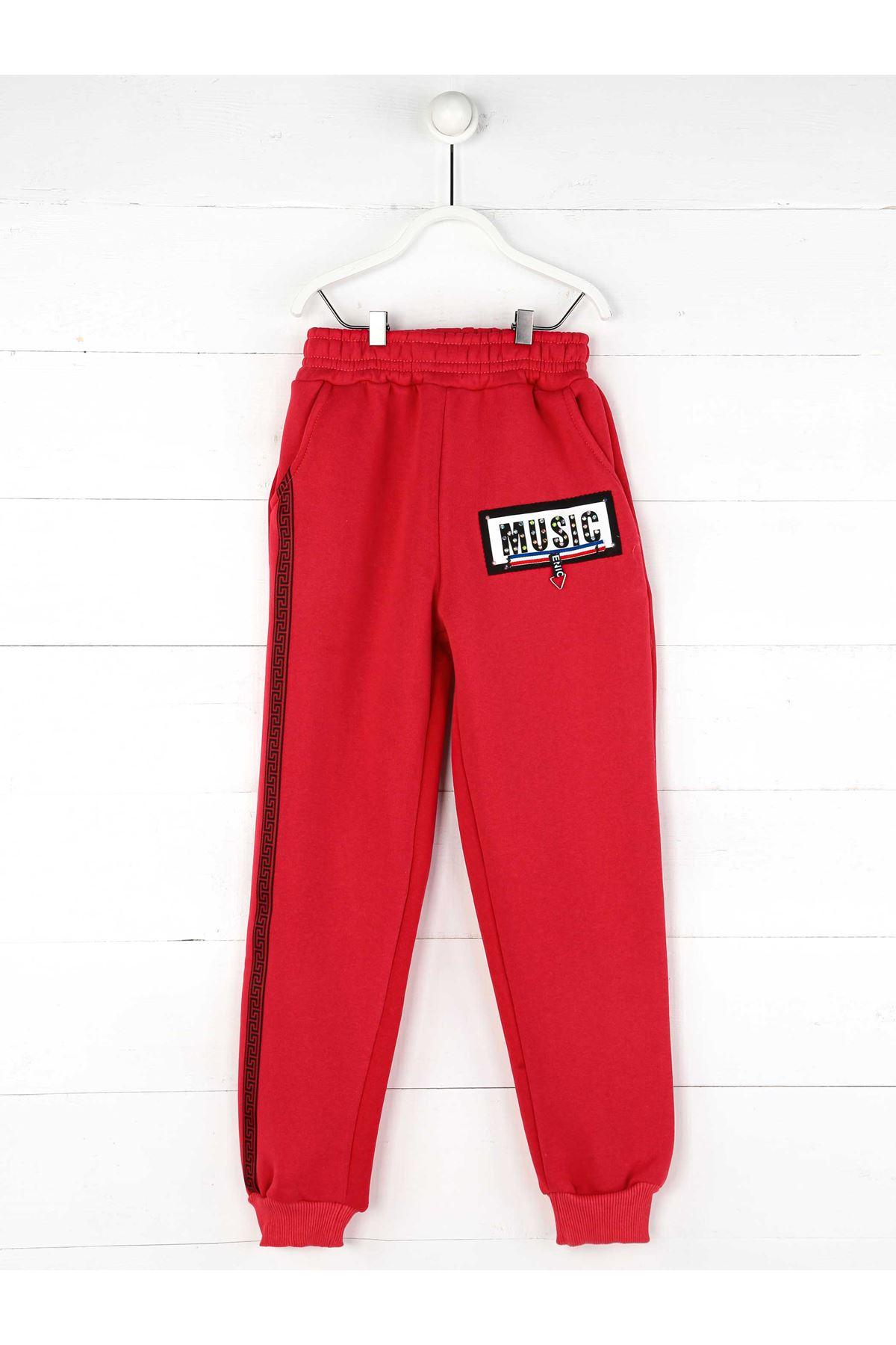 Pink Winter Girls Boy Sweatpants