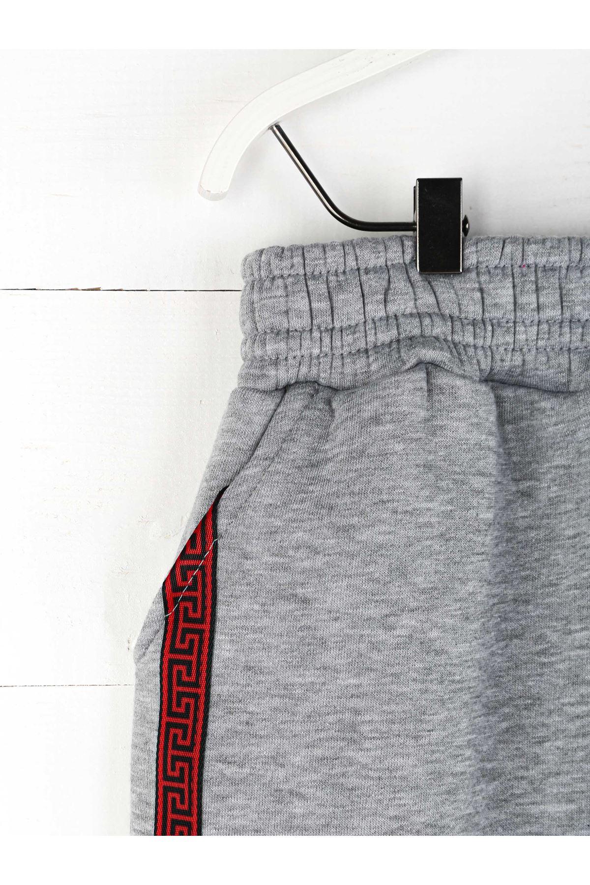 Gray Winter Girl Boy Sweatpants