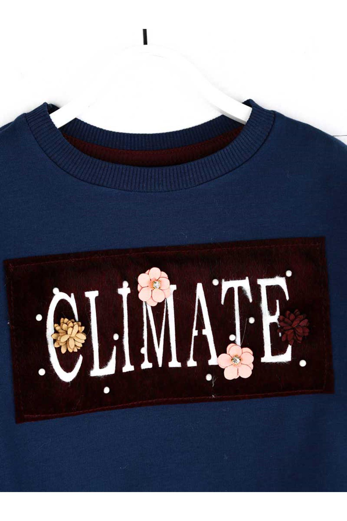 Indigo Seasonal Girl Child Sweatshirt
