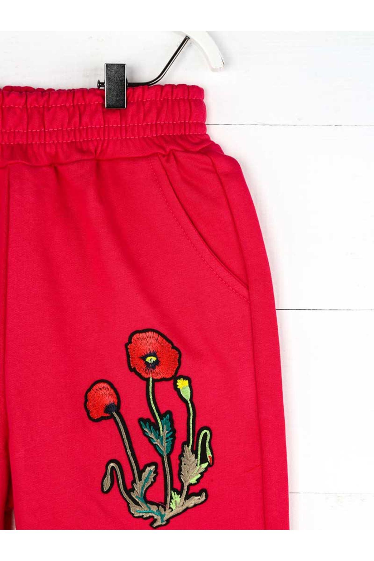 Fuchsia Pink Seasonal Girl Boy Sweatpants