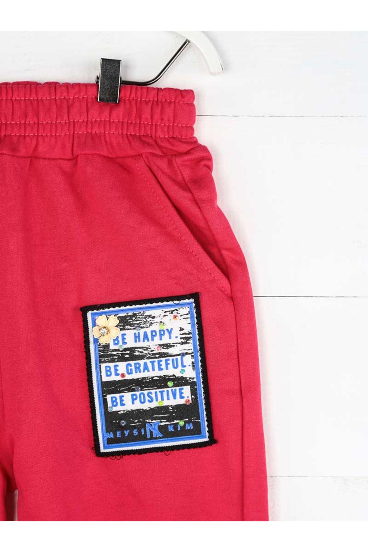 Fuchsia Seasonal Girl Boy Sweatpants