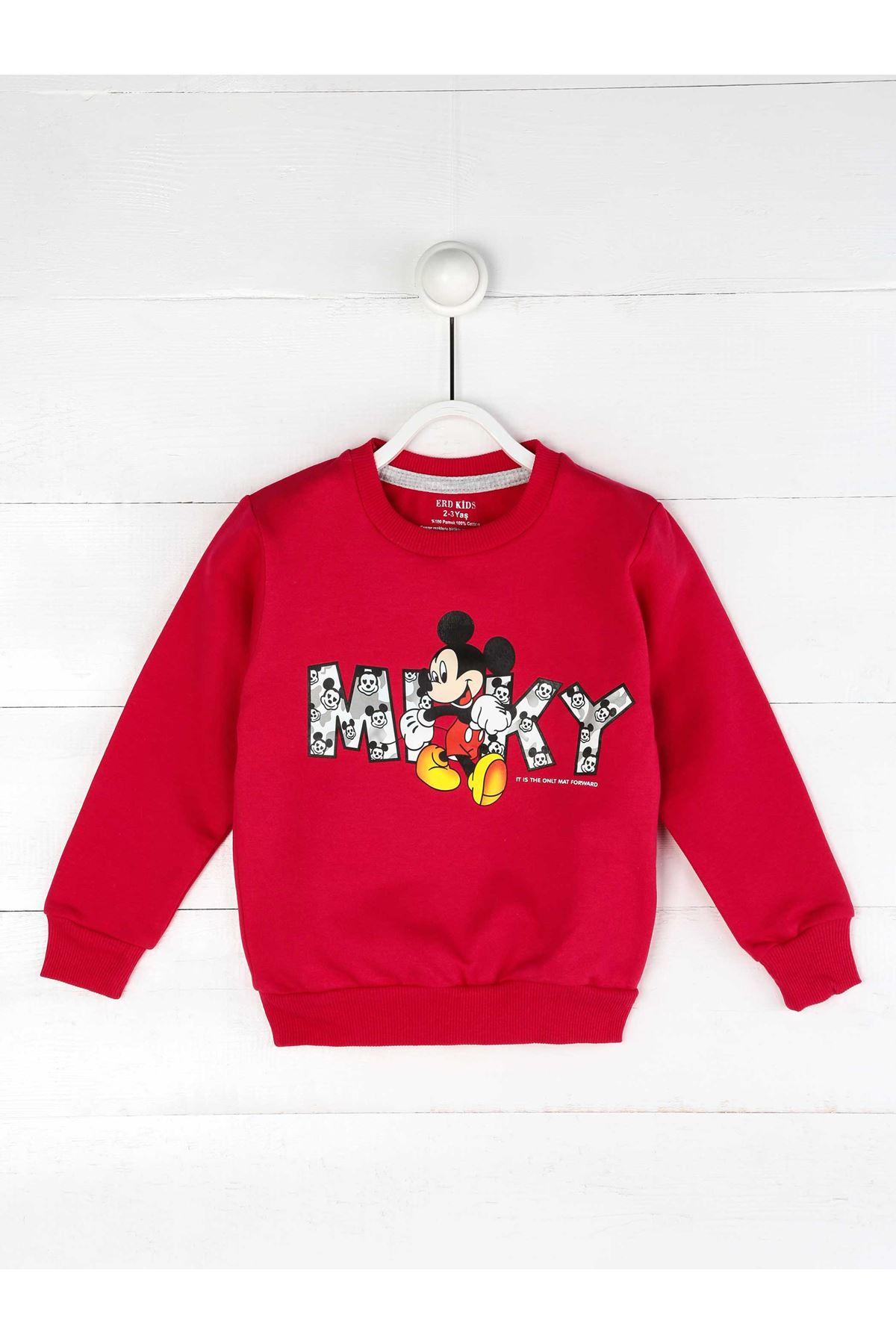 Fuchsia Seasonal Girl Sweatshirt