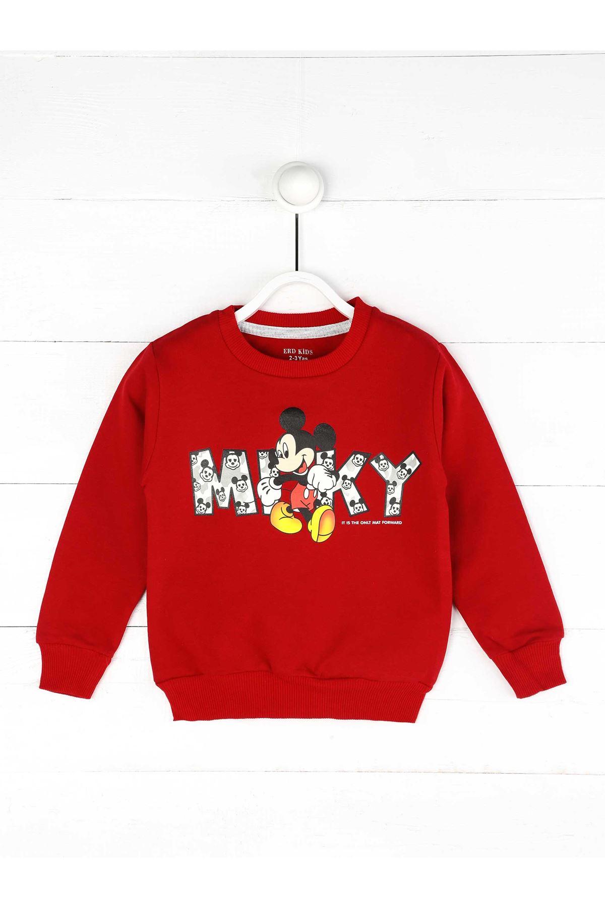 Red Seasonal Girl Sweatshirt
