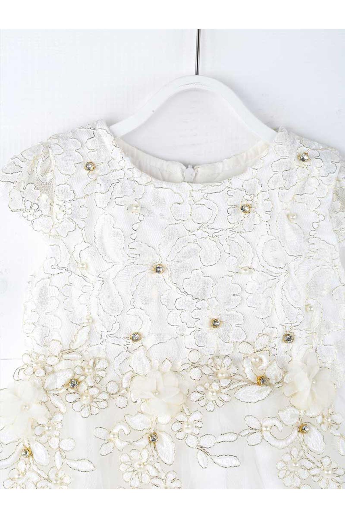 Cream Girl Dress