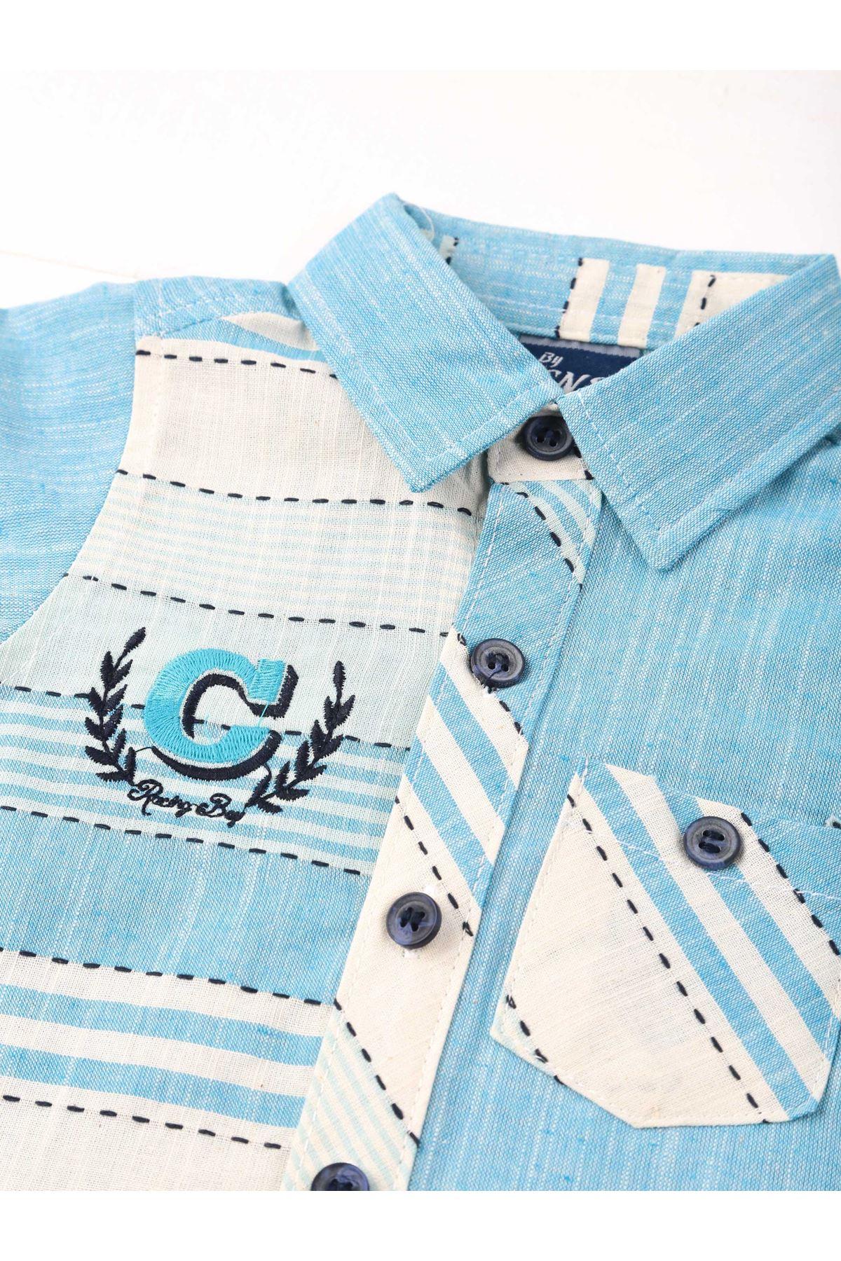 Blue Boy 3-piece Suit