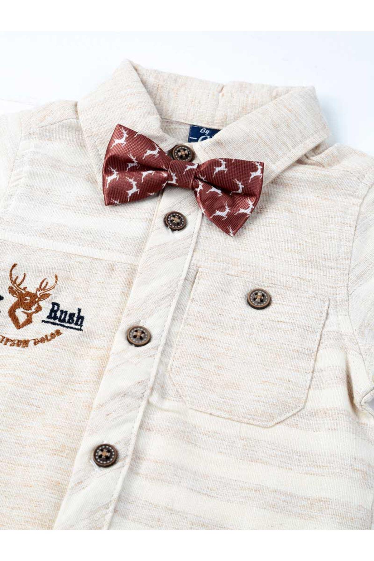 Cream Boy 4-piece Suit