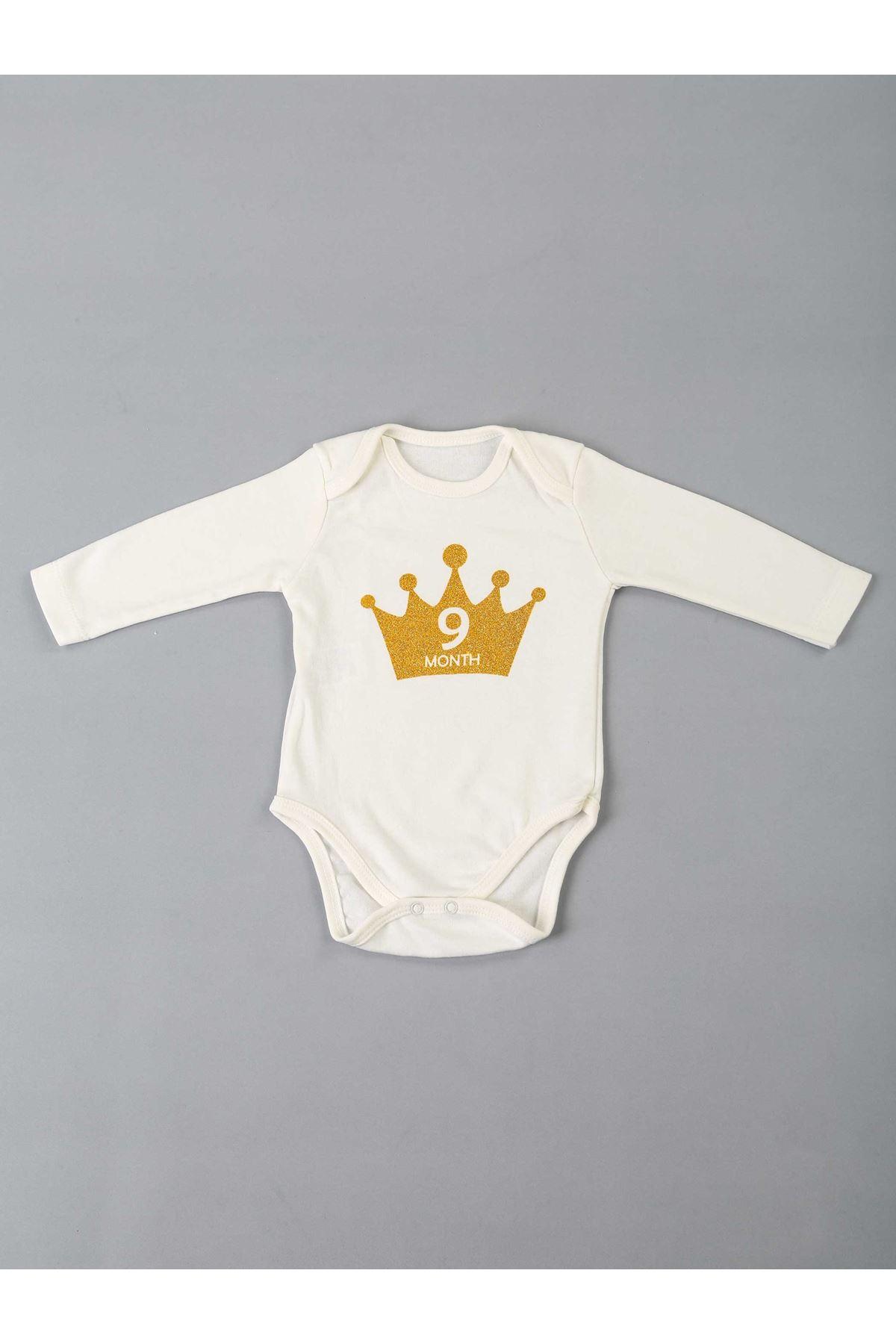 Beyaz 12 Aya Özel Bebek Badi