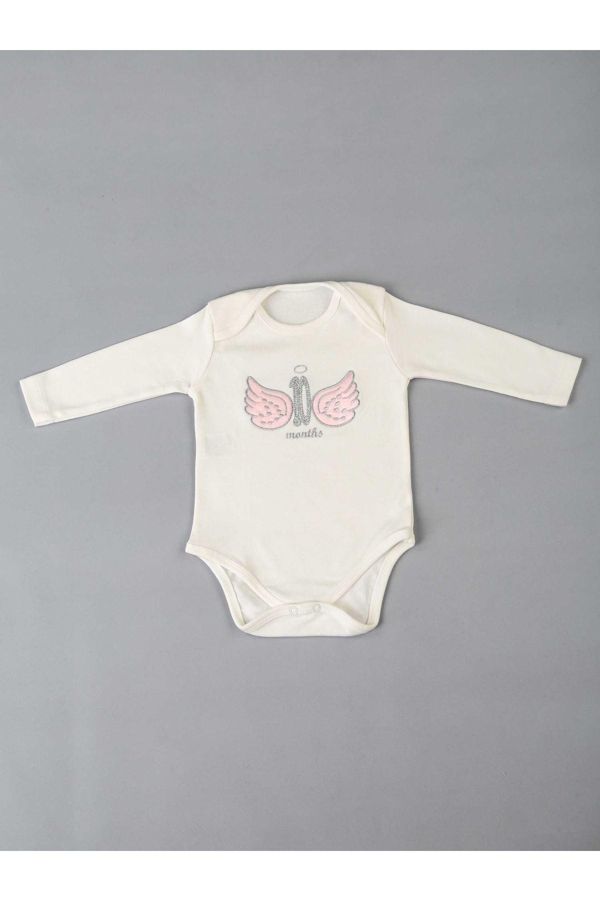 Pembe 12 Aya Özel Kız Bebek Badi