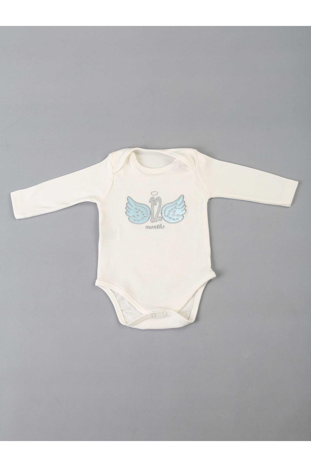 Blue 12 Months Special Baby Boy Badi