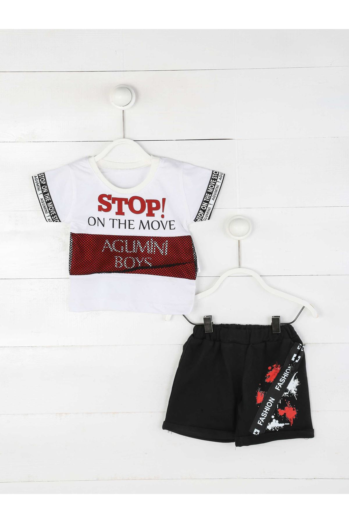 Baby Boy Claret Red Bottom Top Summer Gentleman Babies Cute Casual Casual Cotton Clothing Sets Models and Types