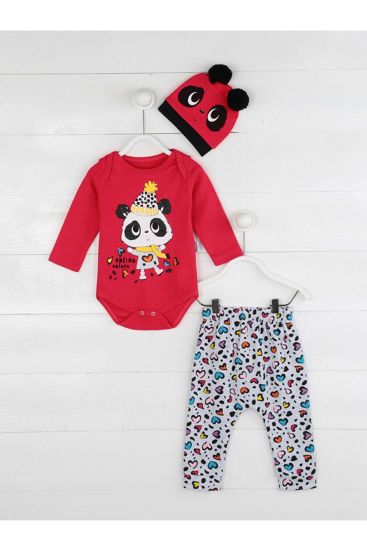Fuchsia Baby Girl 3 Piece Set