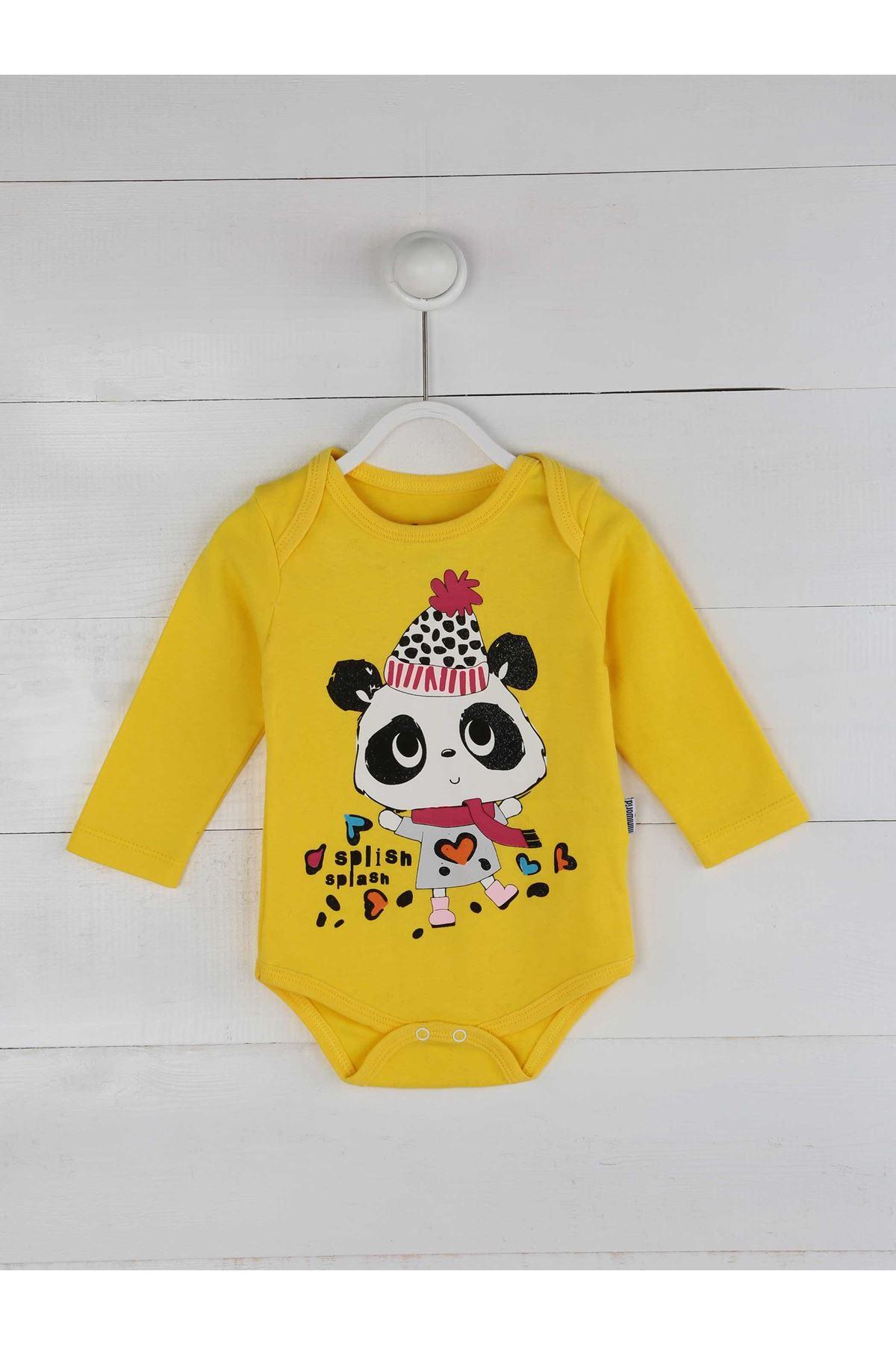 Sarı Kız Bebek 3 lü Takım