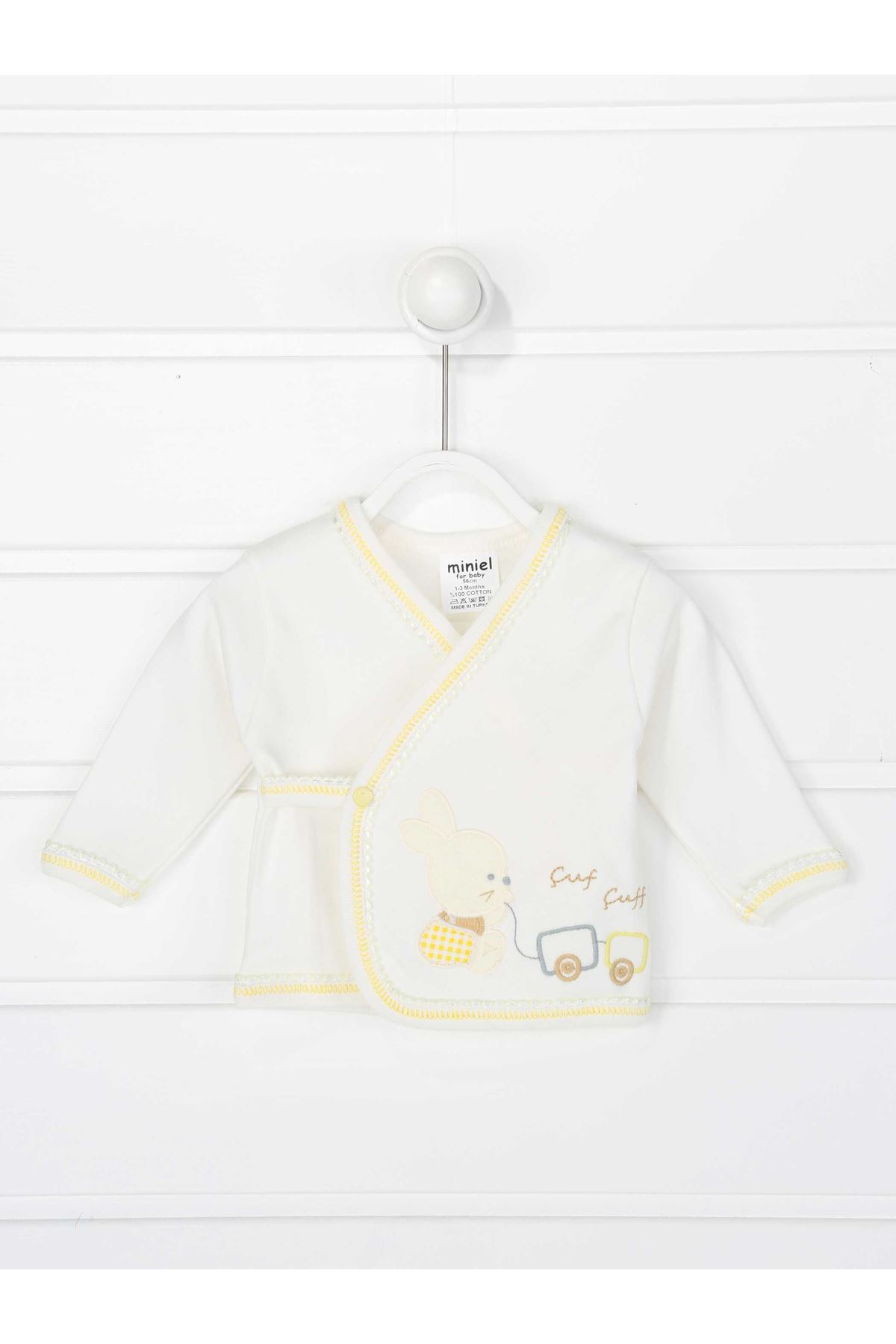 Yellow Newborn Baby Boy 5 piece suit set cotton Gentleman Princess Hospital Outlet daily casual Babies clothes style fashion
