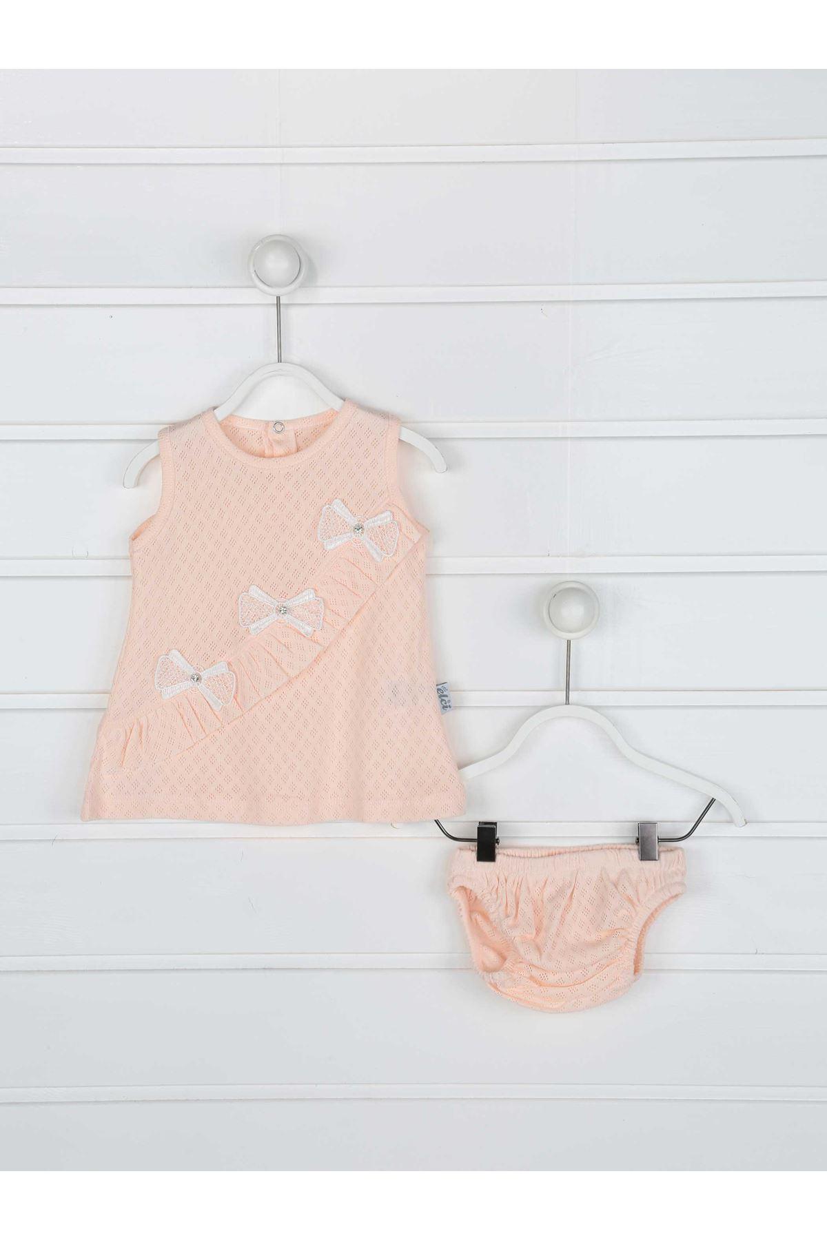 Powder Summer Baby Girl Dress and Briefs