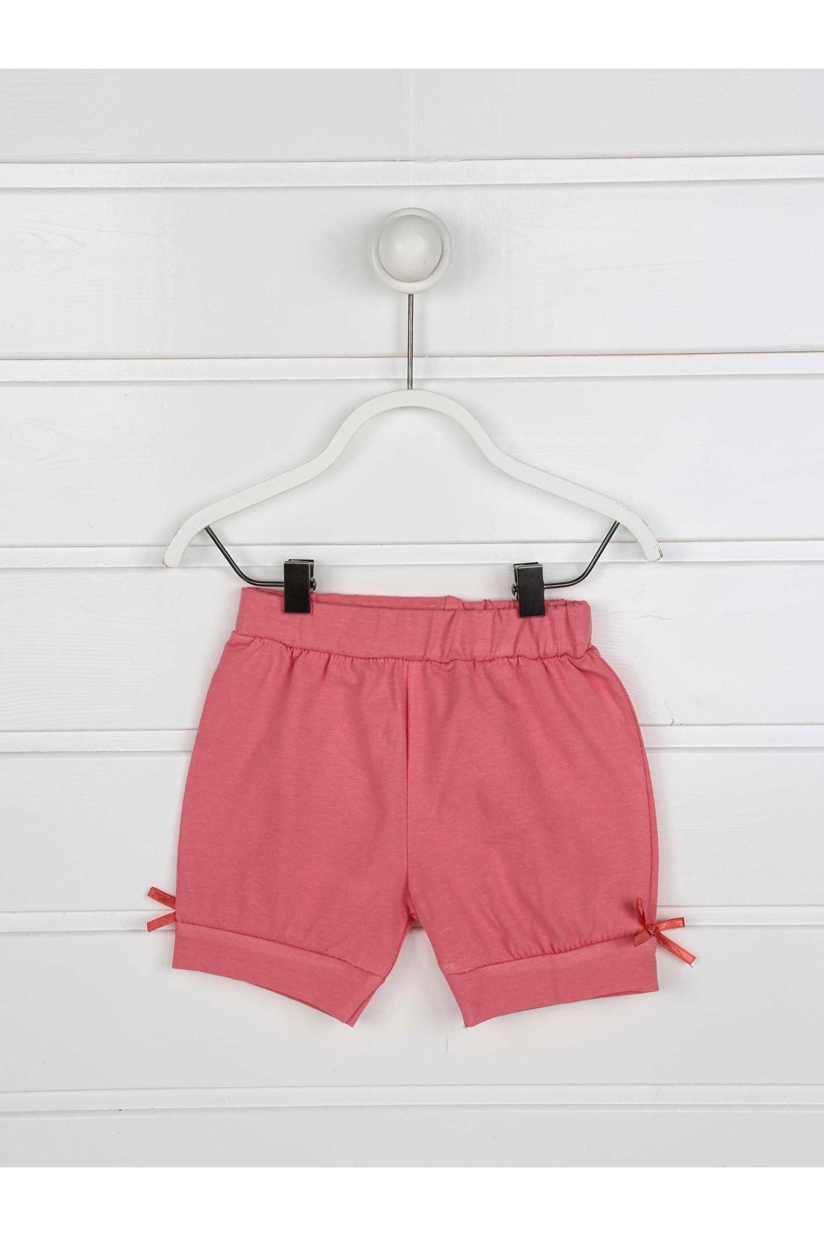 Grenadine red Summer baby girl set bottom tights t-shirt 2 pieces bottom top babies cotton seasonal models