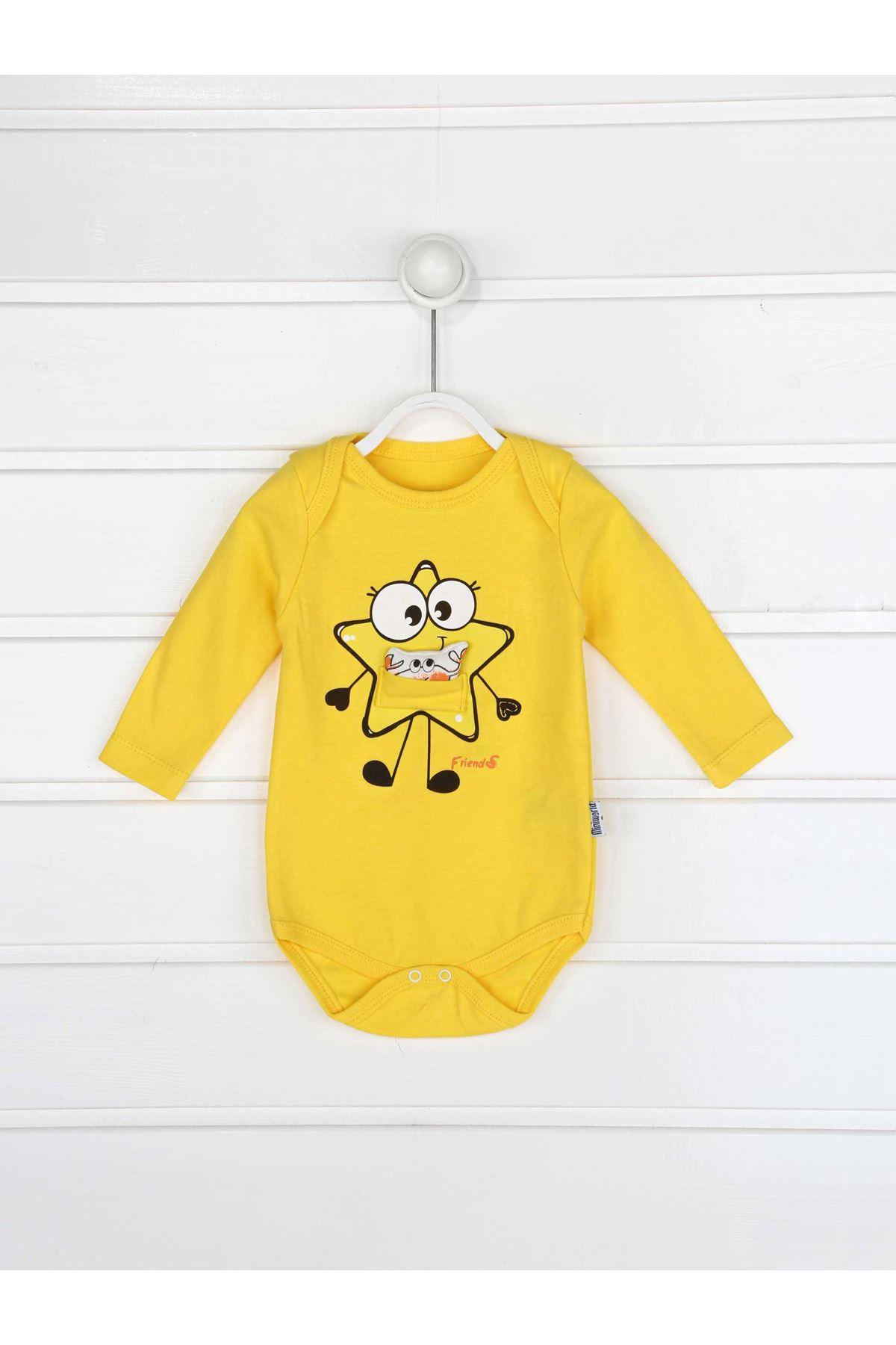 Yellow Baby Boy 3 Pcs Set
