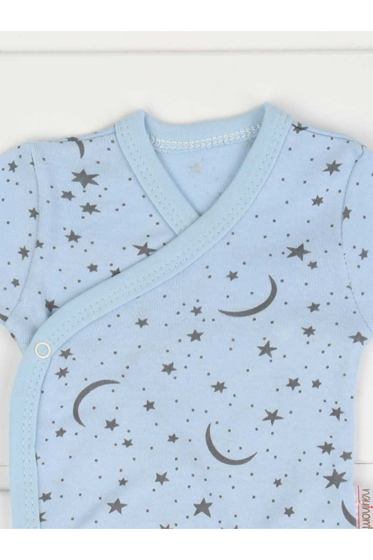 Blue Newborn Long Sleeve Baby Boy Badi
