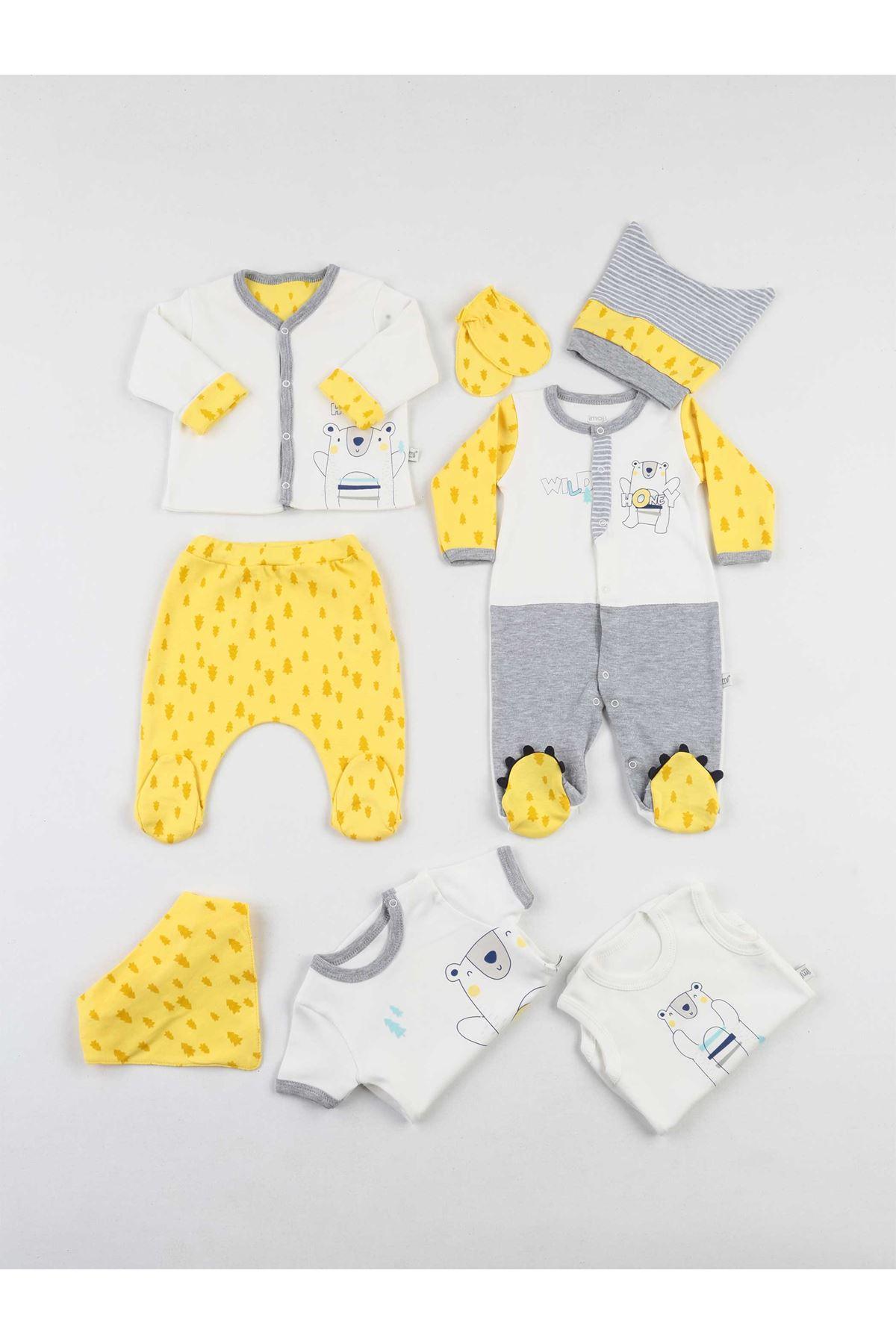 Yellow Baby Boy 8 li Hospital Output