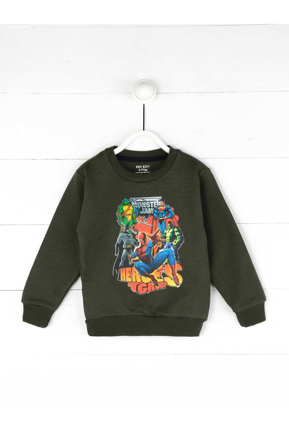 Khaki Seasonal Boy Sweatshirt