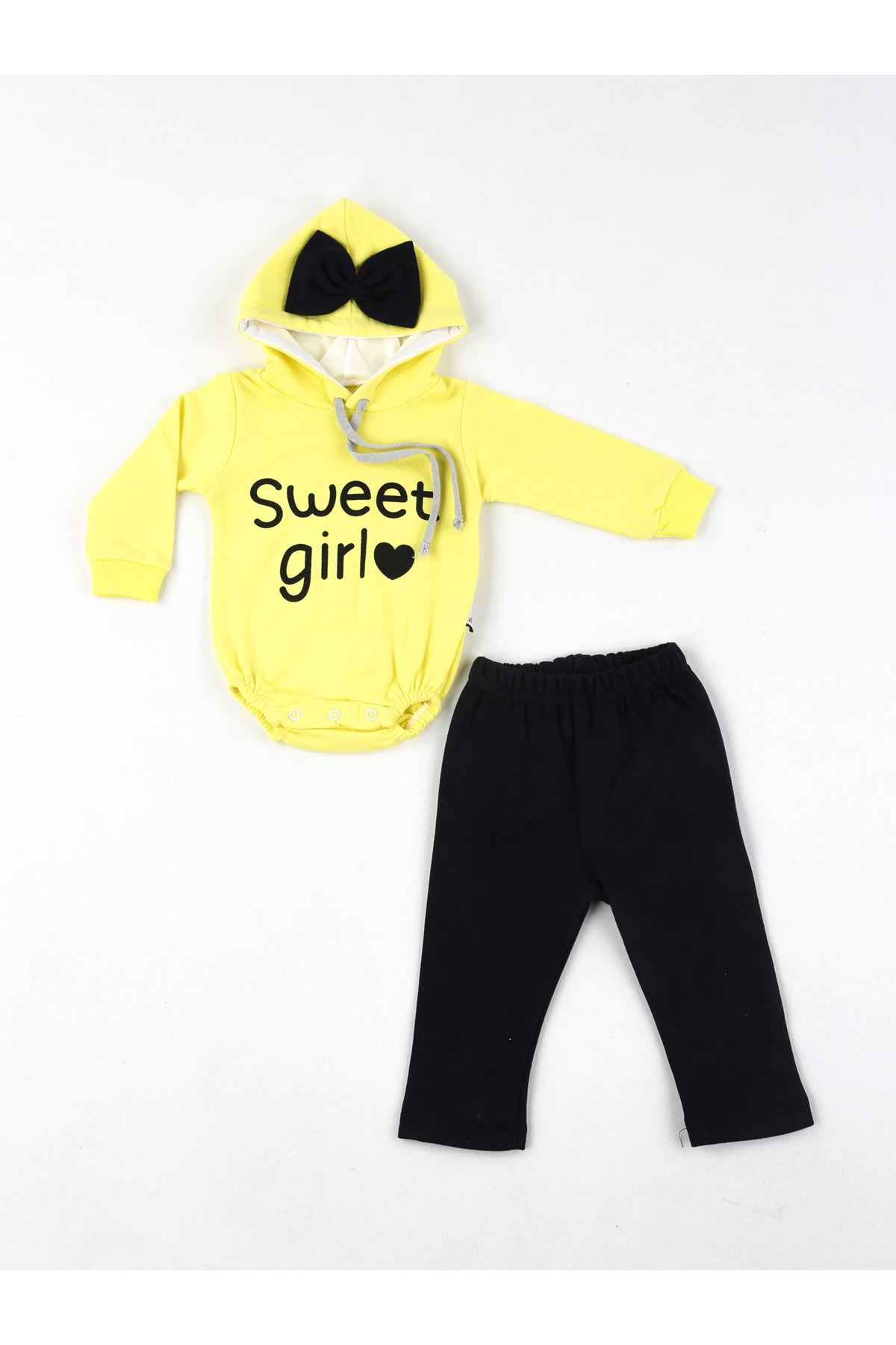 Yellow Baby Girl 2 Piece Suit