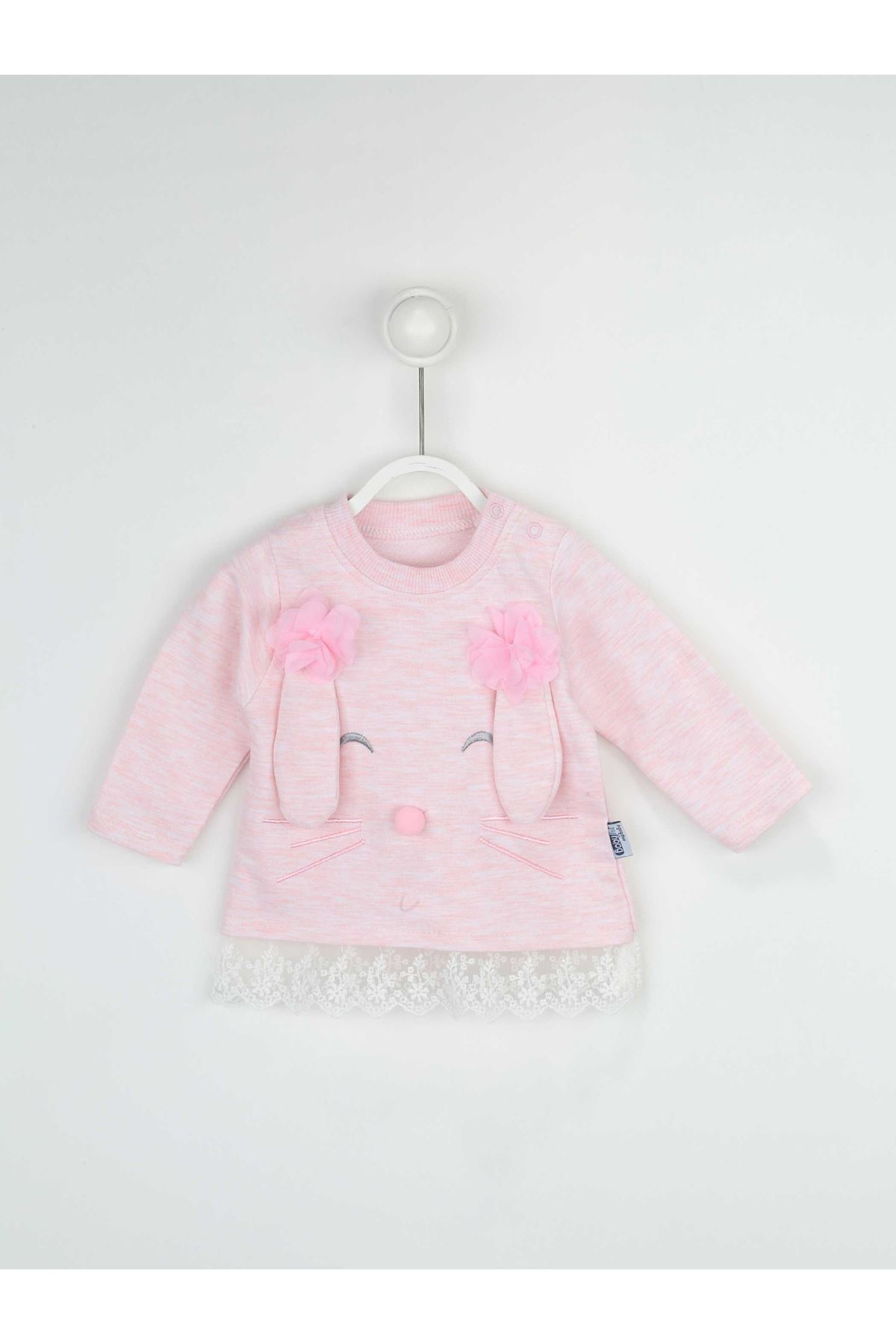Pink Girl Baby 2 Piece Suit