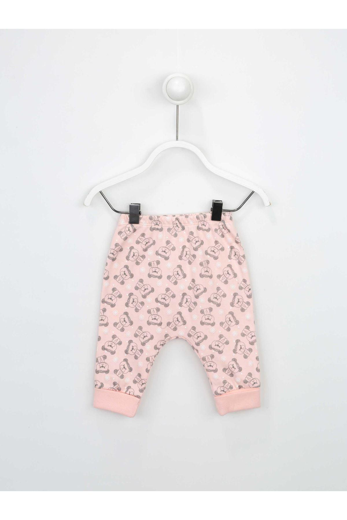 Salmon Baby Girl 3 Piece Suit