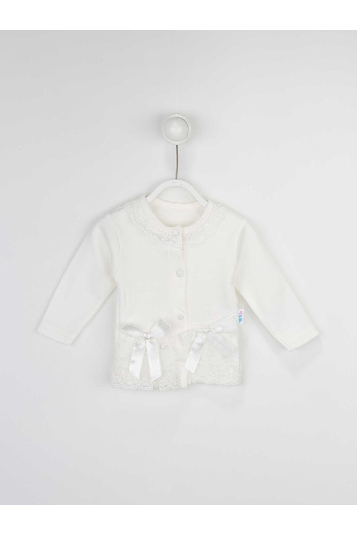 Beyaz Kız Bebek 2 li Takım