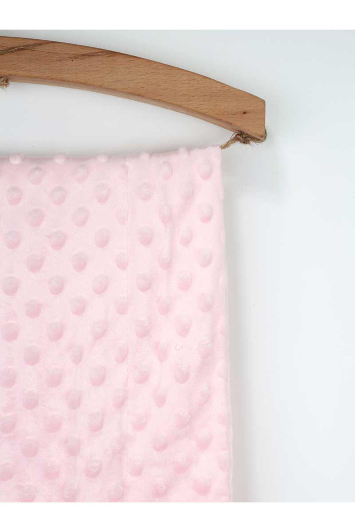 Pink Girls Baby Blanket Embossed Chickpea Swaddle Blanket Cotton Soft babies Comfortable Sweatproof Antiallergic Baby Stroller