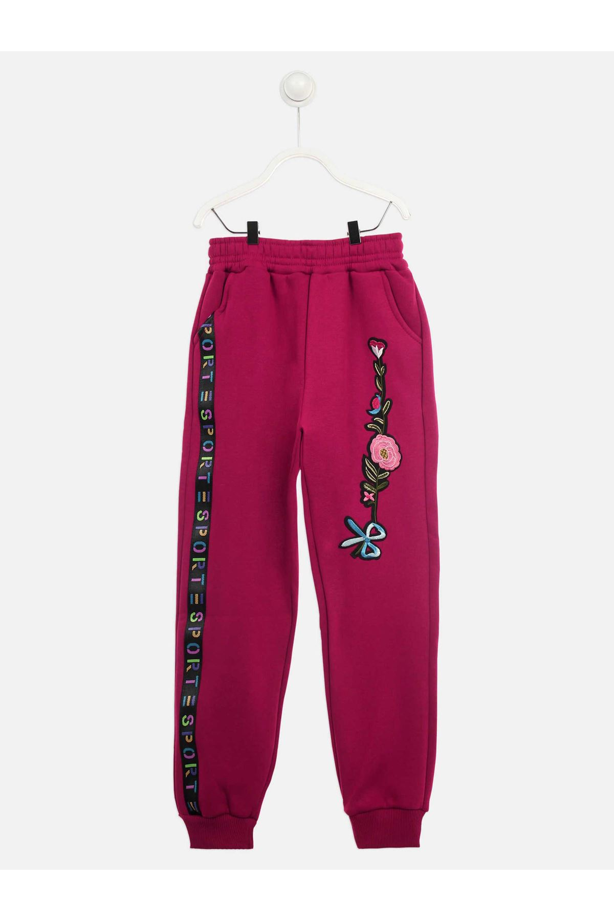 Purple Winter Girl's Sweatpants