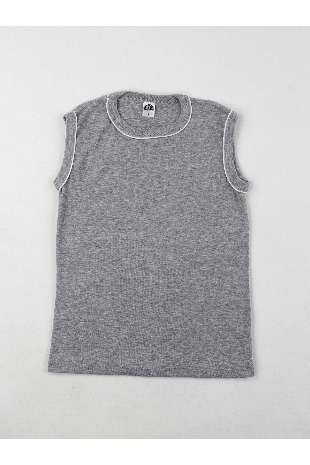 Gümüş İç Giyim Erkek Çocuk Gri Spor Fanila
