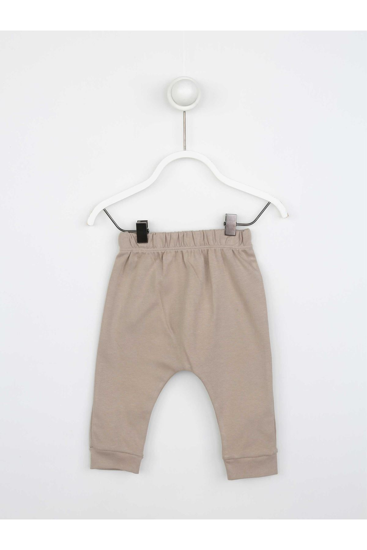 Brown Baby Boy 3 Pcs Set