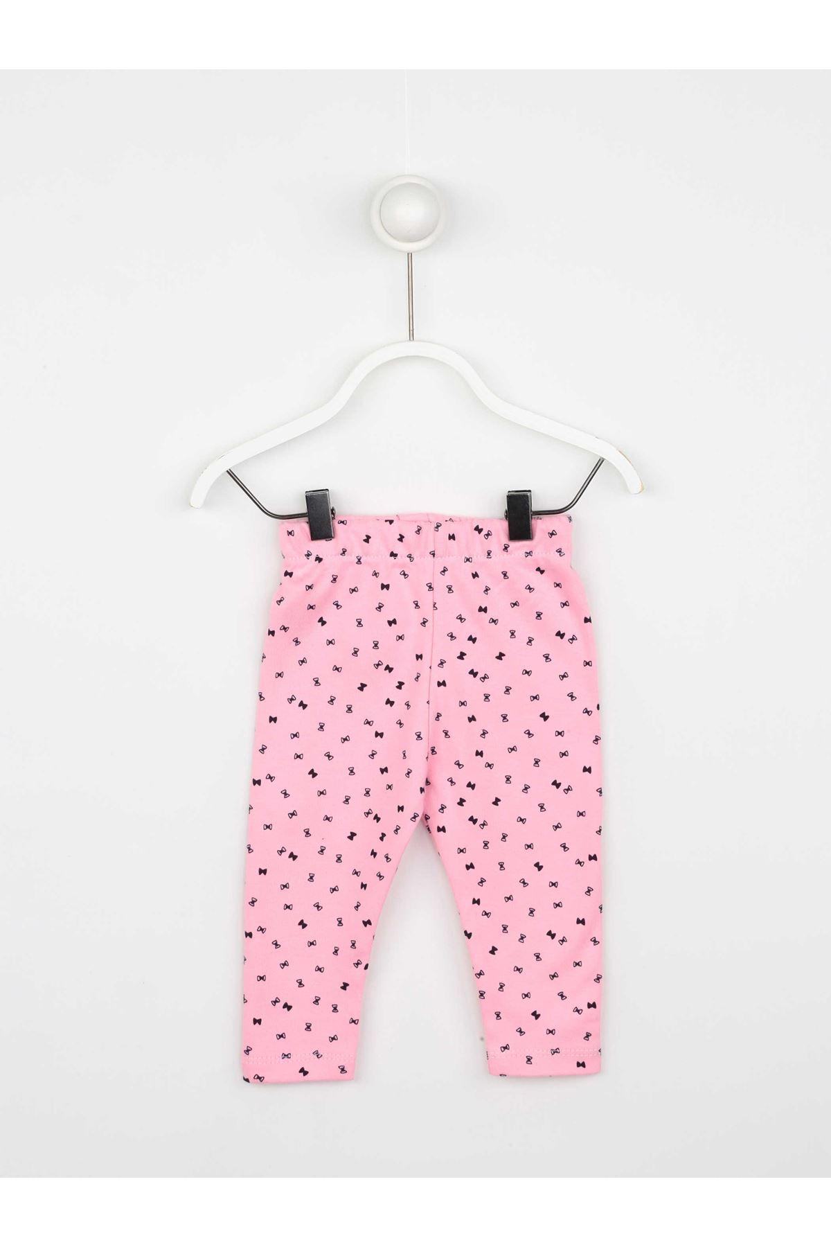 Pink Seasonal Girl Baby Vest Suit