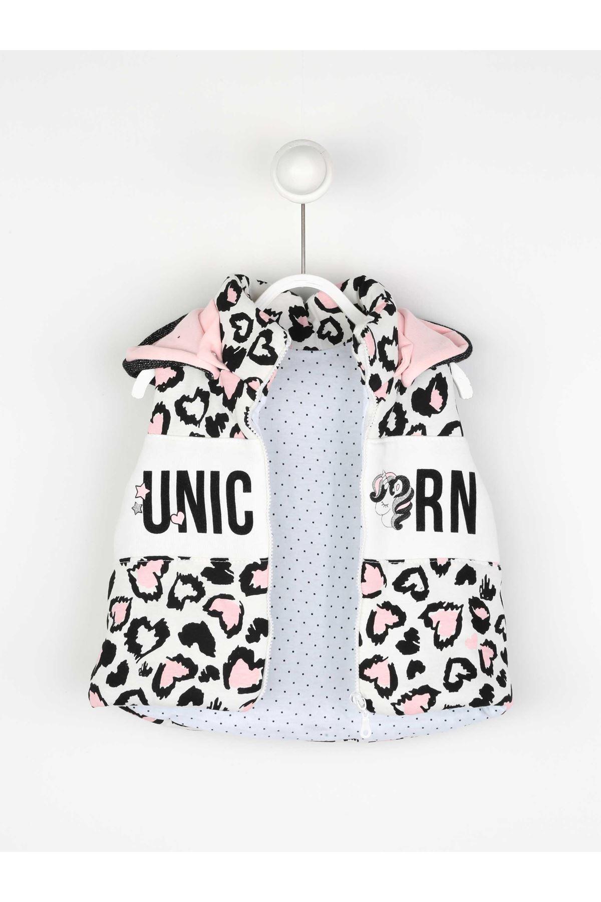 Fuchsia Seasonal Girl Baby Vest Suit