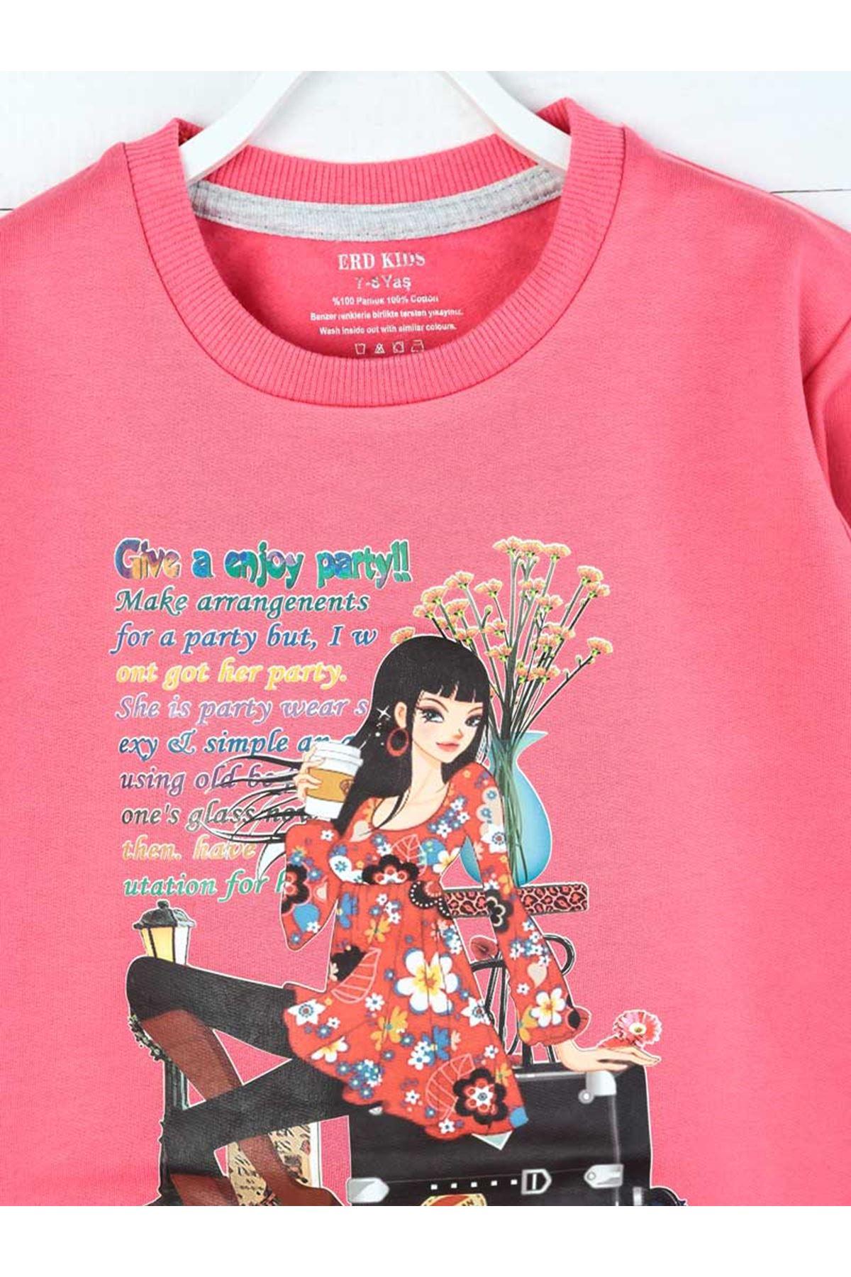 Pink Seasonal Girl Child Sweatshirt