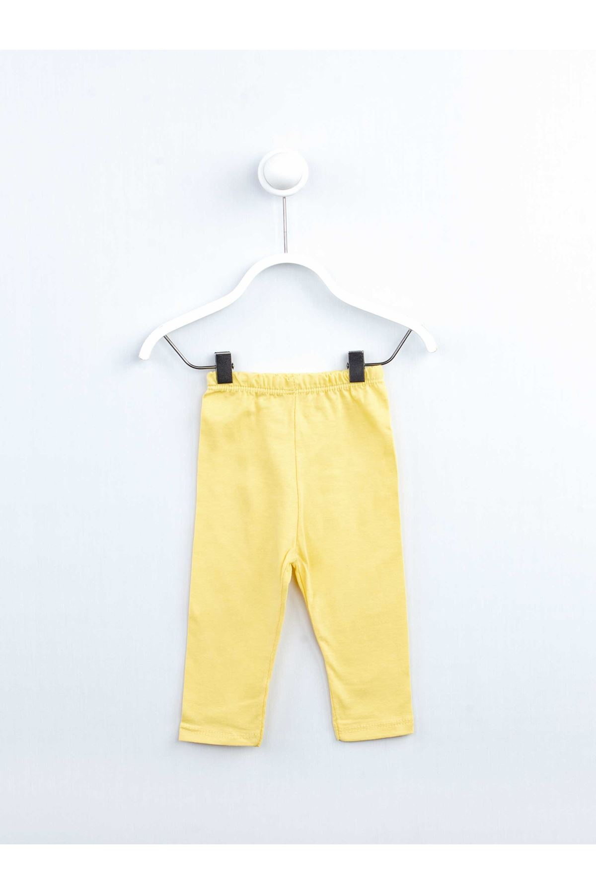 Yellow Baby Girl The tights 2 Piece Set Suit Girls Cotton Seasonal Flowering Ribbons Casual Clothing Outfit dresses